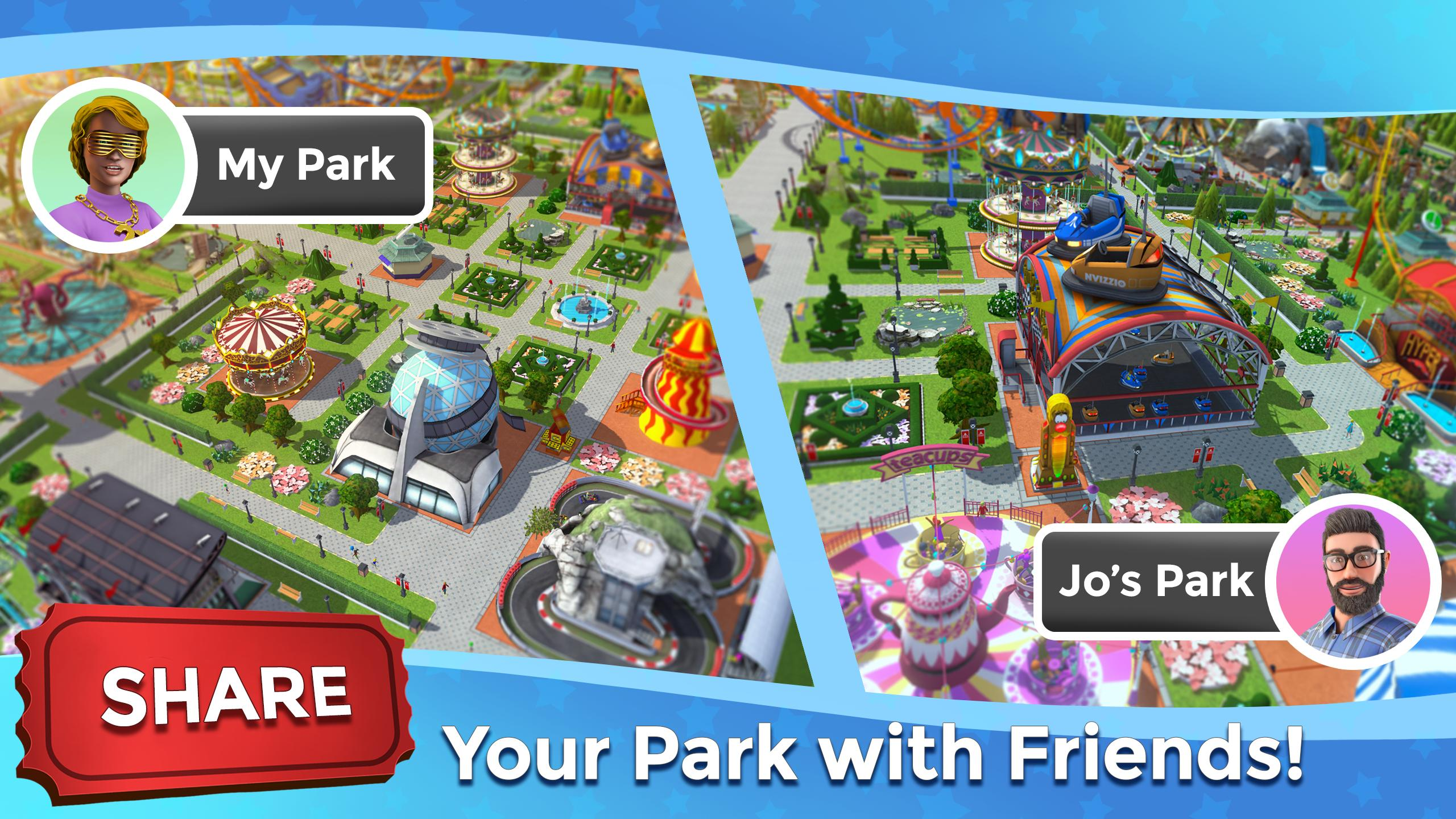 RollerCoaster Tycoon Touch - Build your Theme Park 3.5.0 Screenshot 7