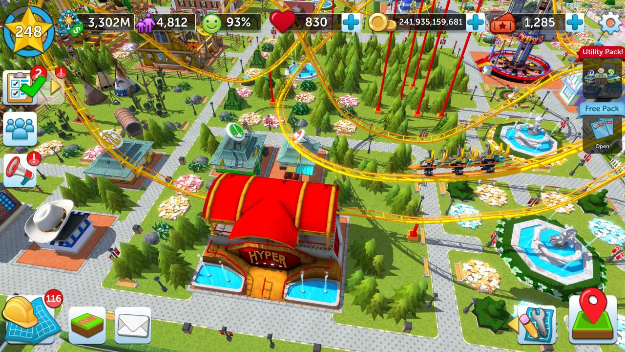 RollerCoaster Tycoon Touch - Build your Theme Park 3.5.0 Screenshot 8