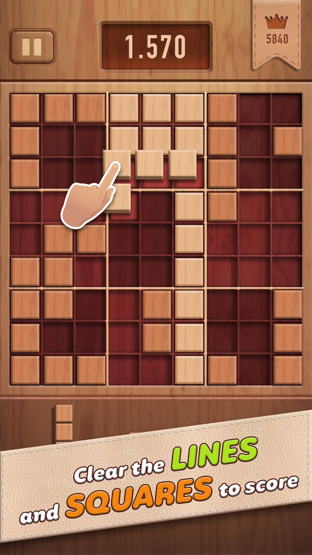 Woody 99 Sudoku Block Puzzle - Free Mind Games 1.2.2 Screenshot 1