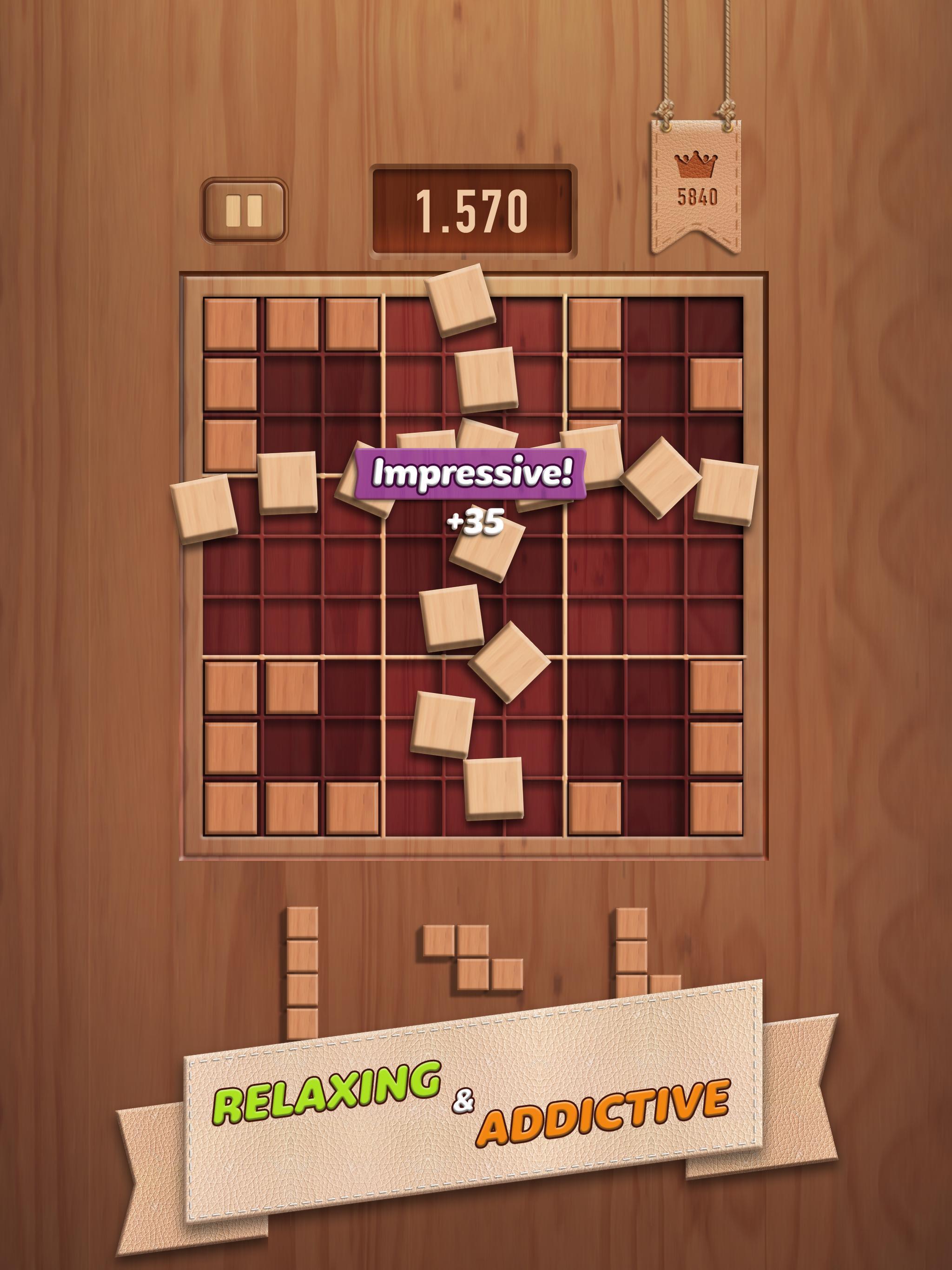 Woody 99 Sudoku Block Puzzle - Free Mind Games 1.2.2 Screenshot 9