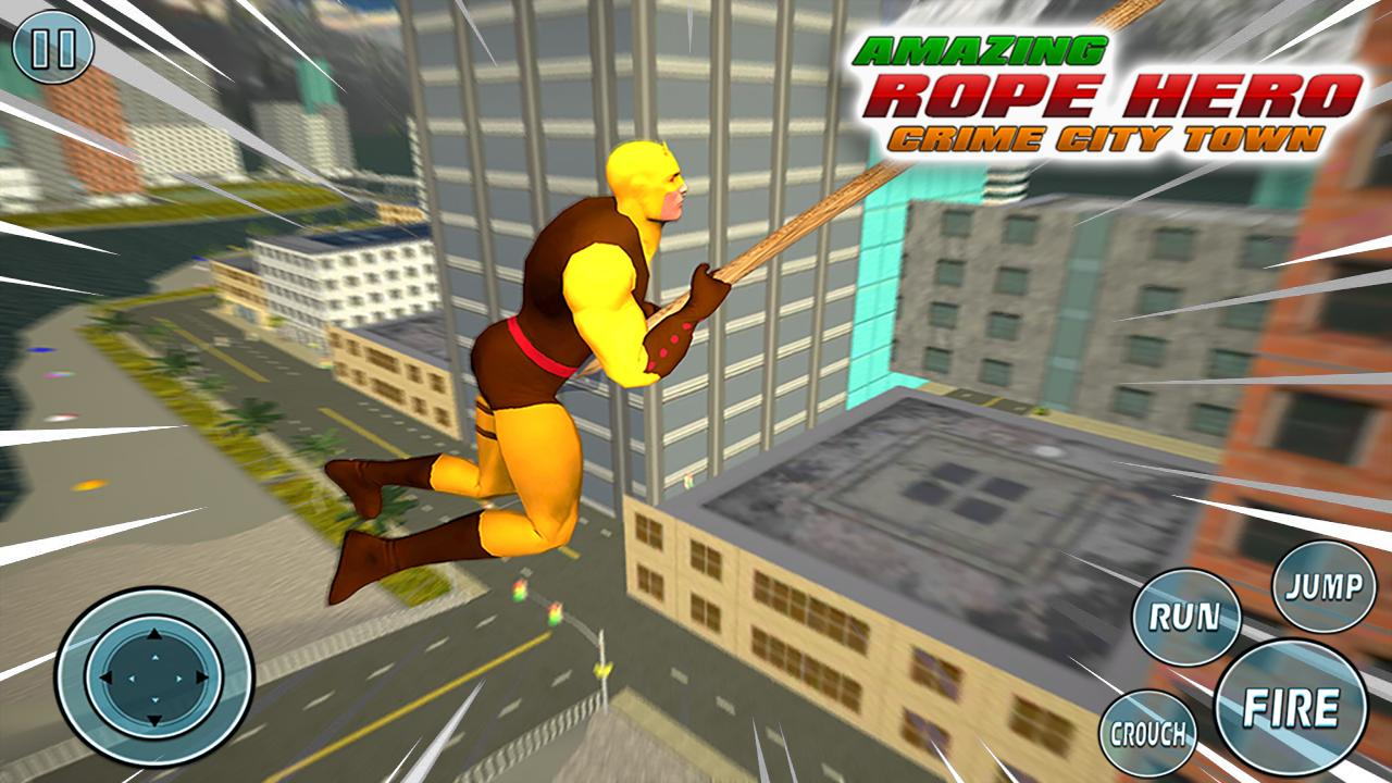 Super Vice Town Rope Hero: Crime Simulator 1.0 Screenshot 1