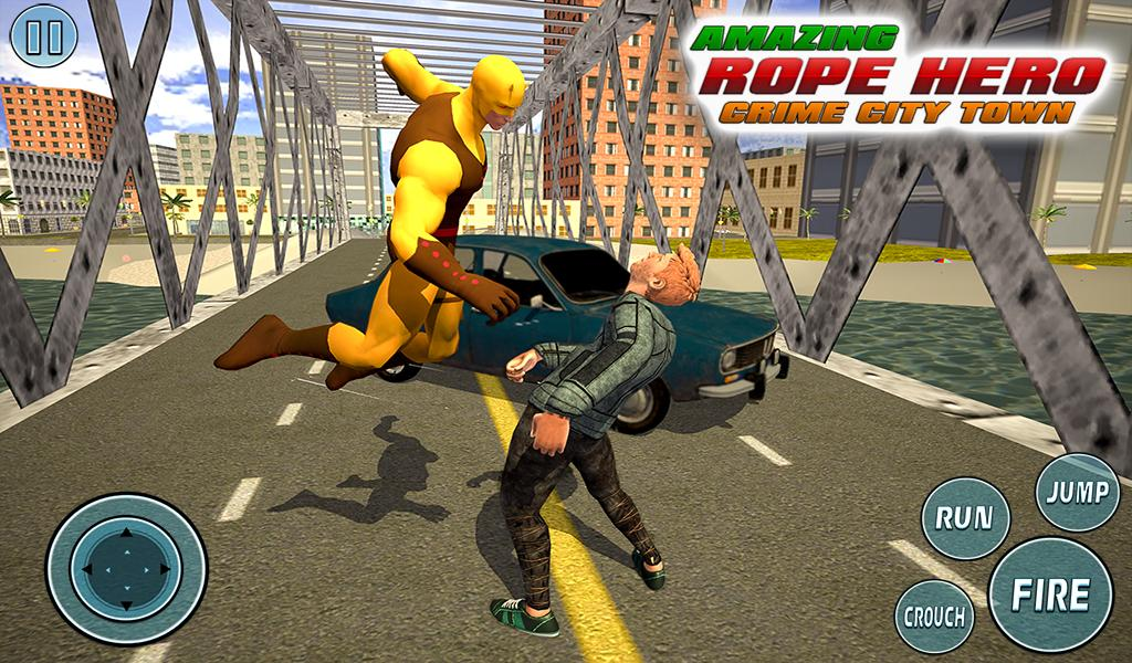 Super Vice Town Rope Hero: Crime Simulator 1.0 Screenshot 11