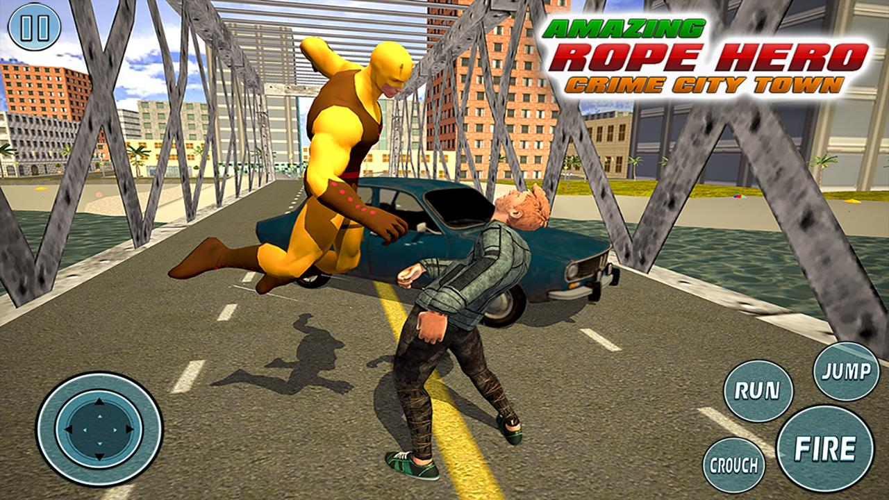 Super Vice Town Rope Hero: Crime Simulator 1.0 Screenshot 3