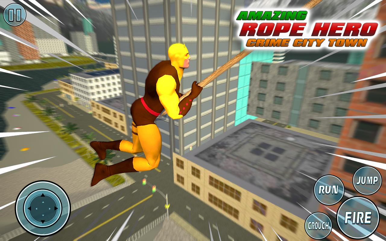 Super Vice Town Rope Hero: Crime Simulator 1.0 Screenshot 5