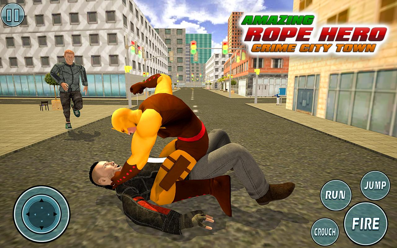 Super Vice Town Rope Hero: Crime Simulator 1.0 Screenshot 6