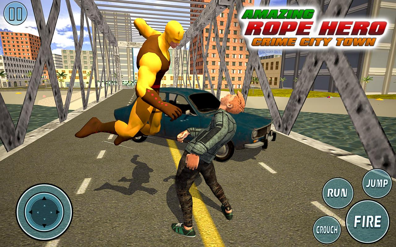 Super Vice Town Rope Hero: Crime Simulator 1.0 Screenshot 7