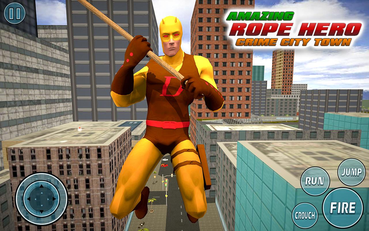 Super Vice Town Rope Hero: Crime Simulator 1.0 Screenshot 8