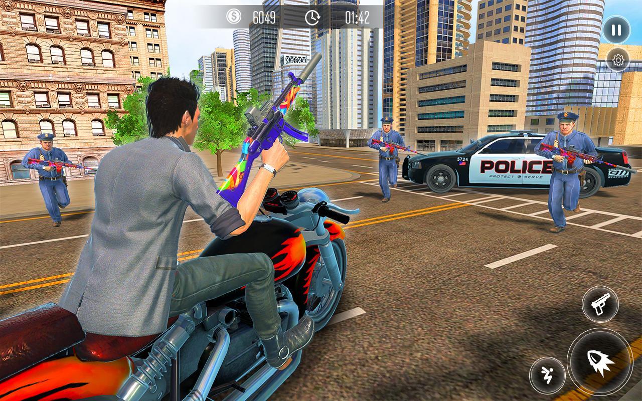 New York Car Gangster: Grand Action Simulator Game 9 Screenshot 5