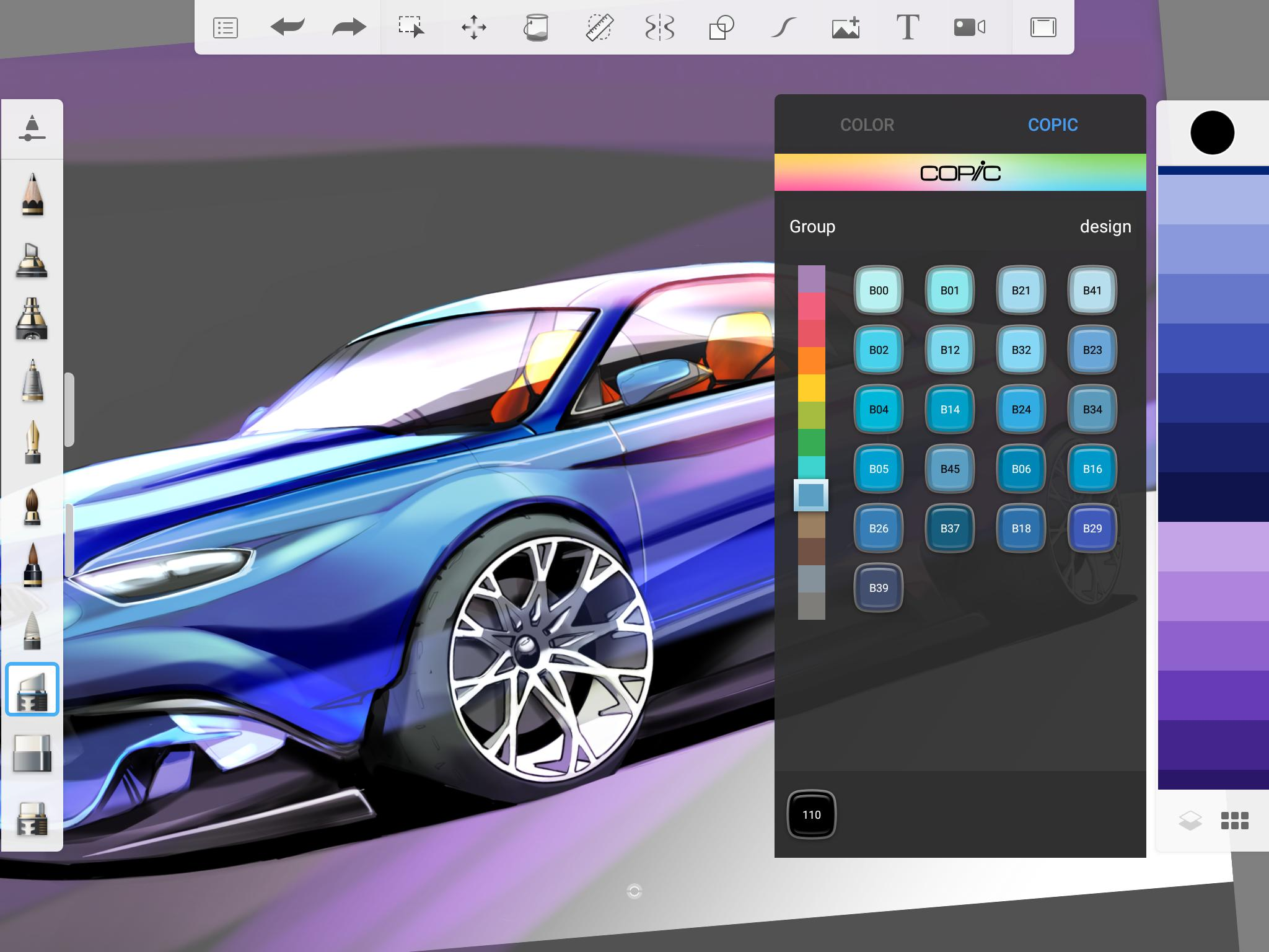 SketchBook - draw and paint 5.2.2 Screenshot 10