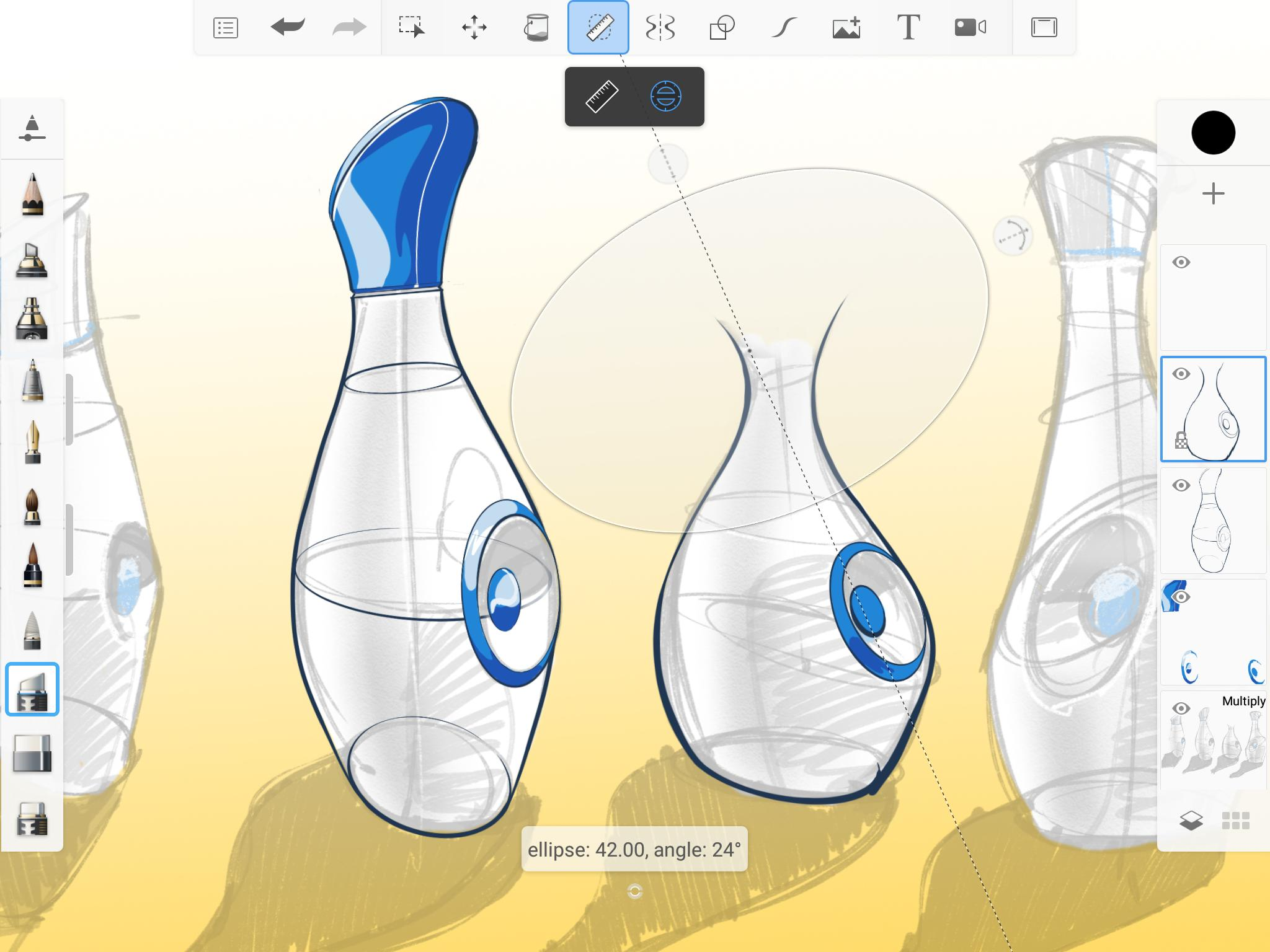 SketchBook - draw and paint 5.2.2 Screenshot 8