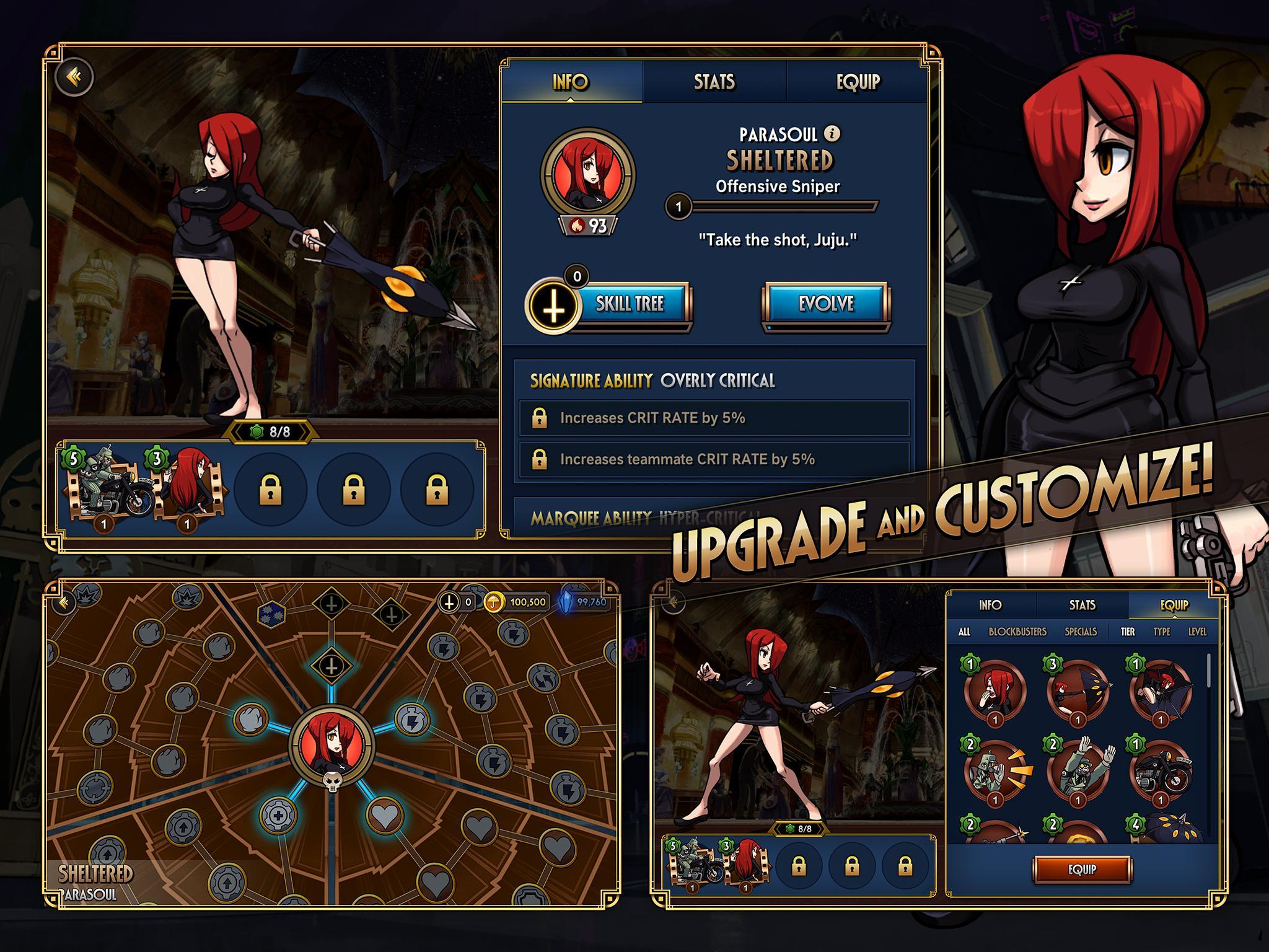 Skullgirls Fighting RPG 4.3.2 Screenshot 10