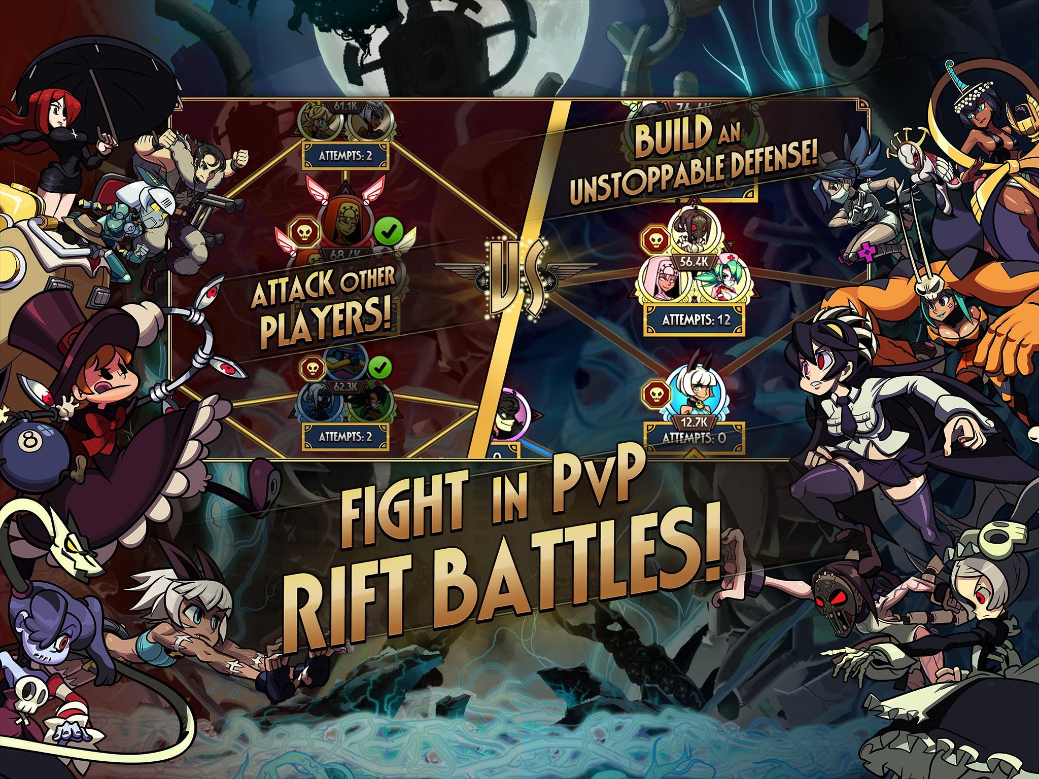 Skullgirls Fighting RPG 4.3.2 Screenshot 11
