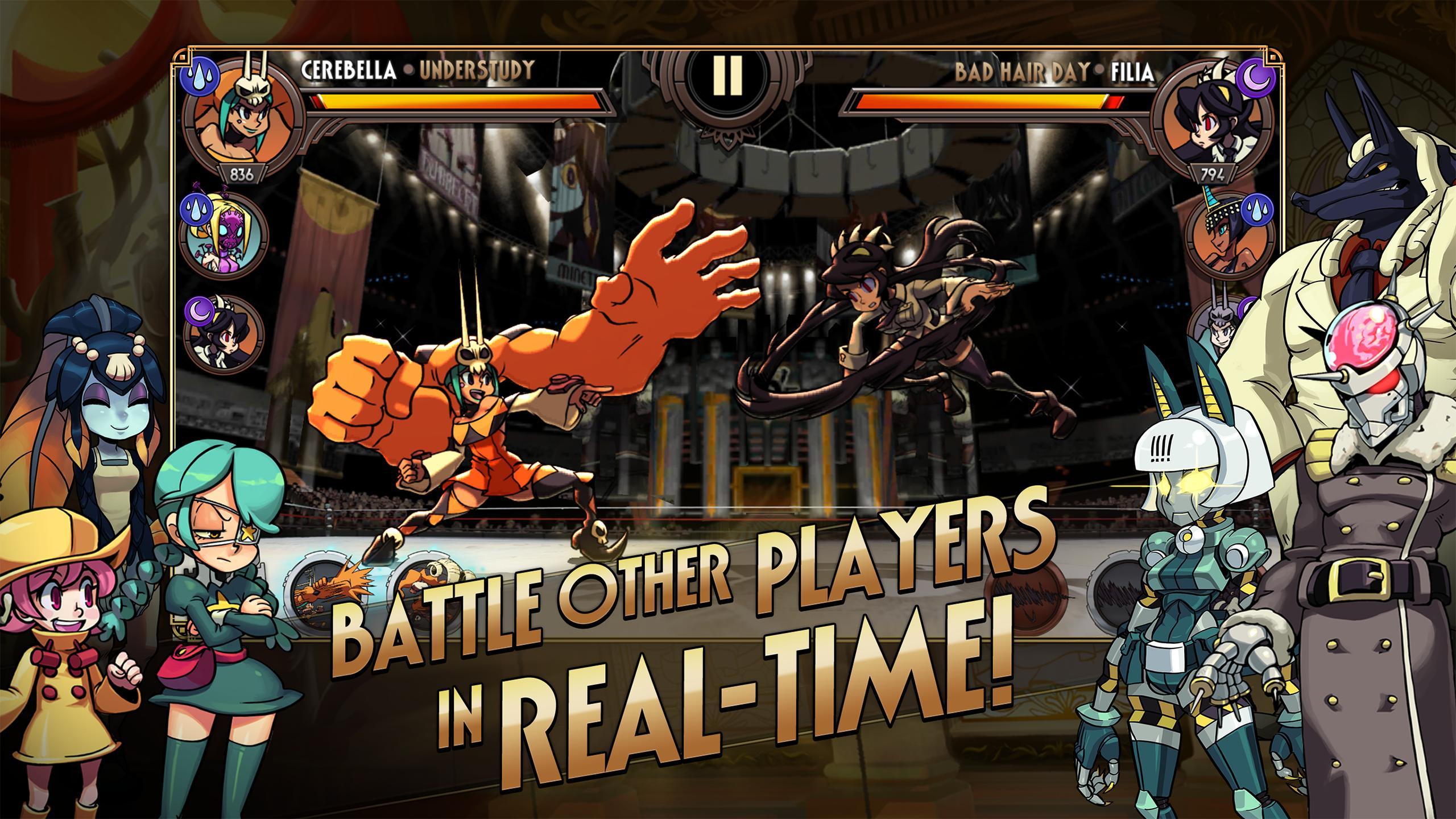 Skullgirls Fighting RPG 4.3.2 Screenshot 2