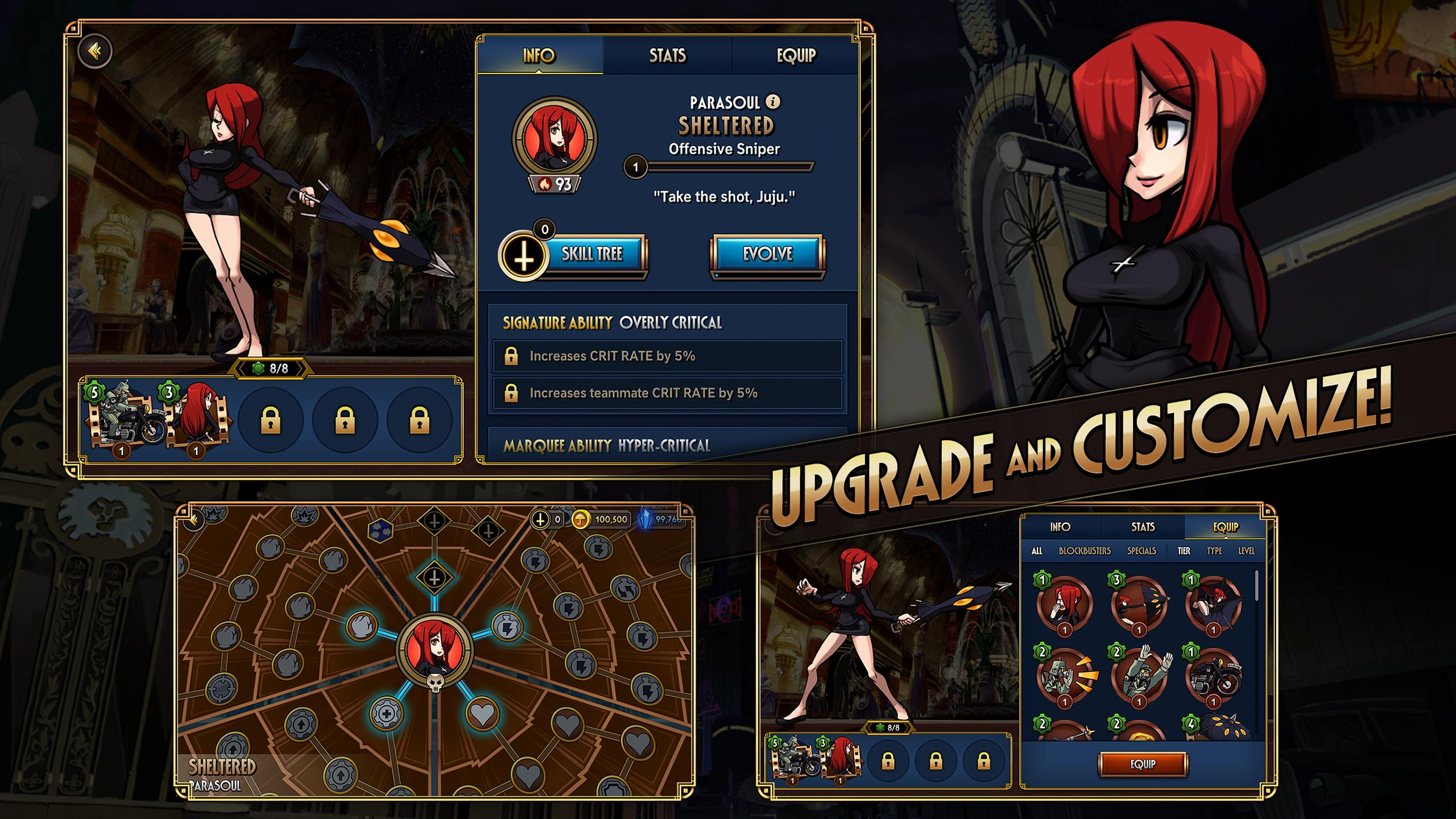 Skullgirls Fighting RPG 4.3.2 Screenshot 4
