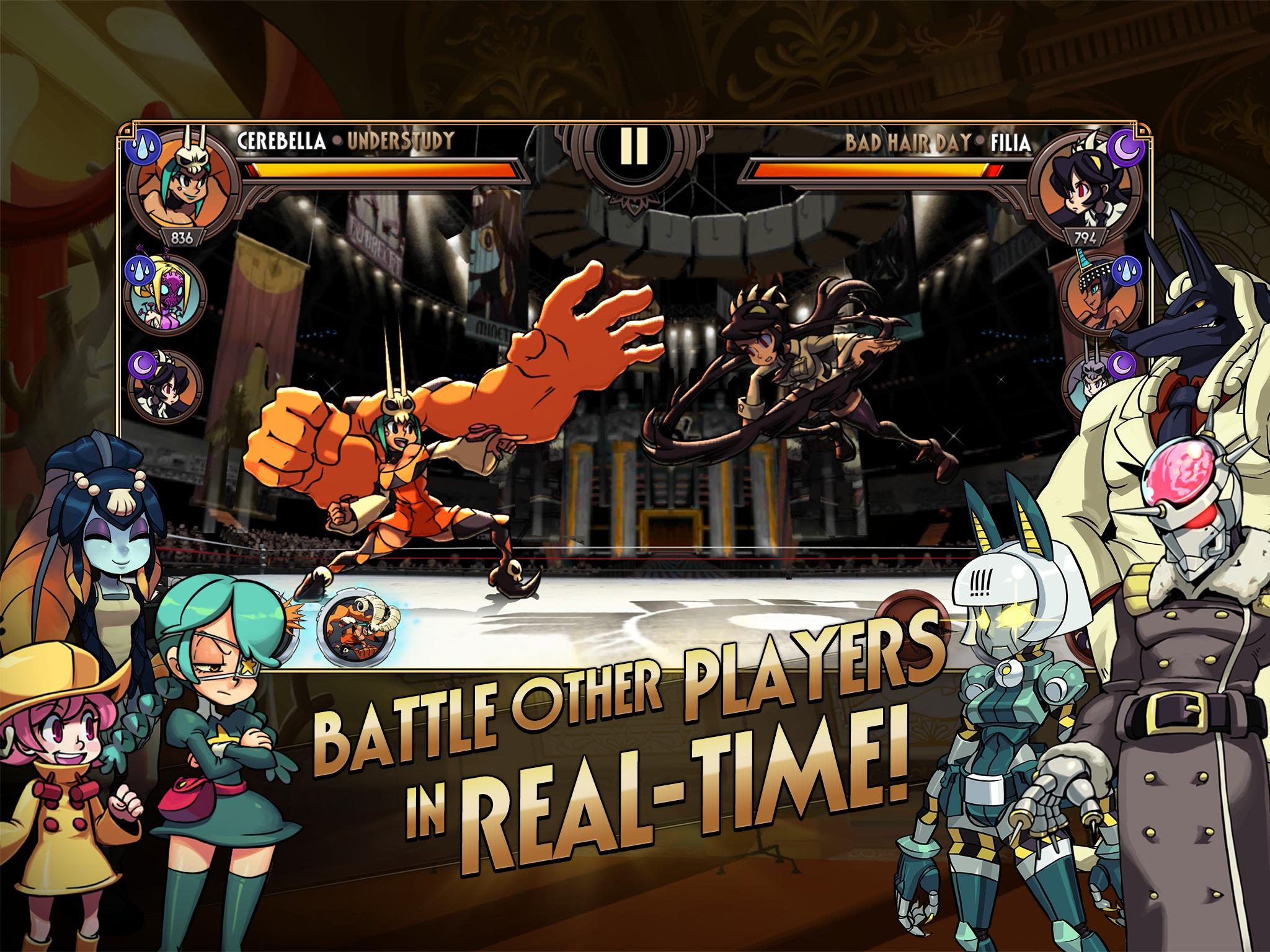 Skullgirls Fighting RPG 4.3.2 Screenshot 8