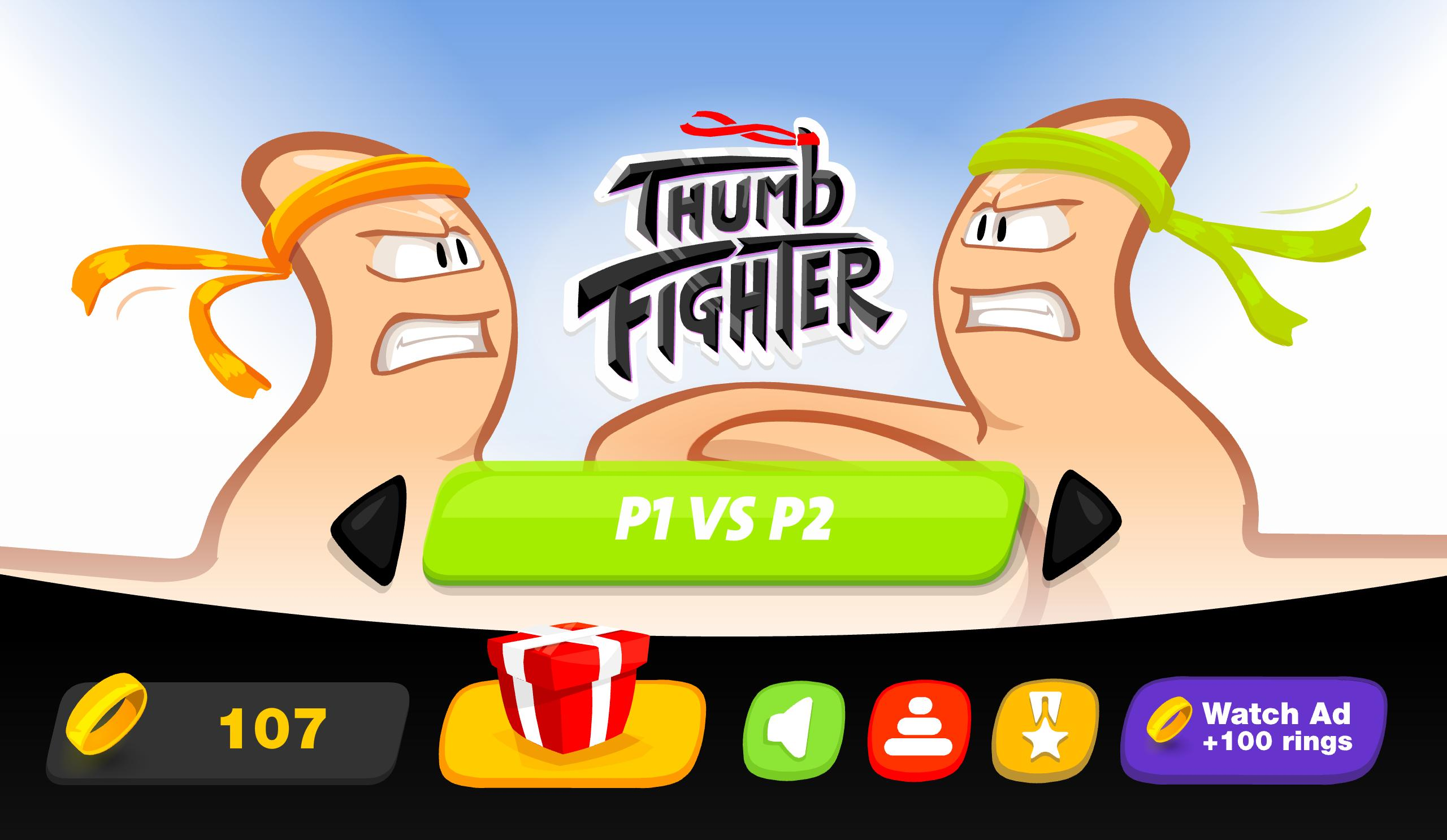Thumb Fighter 👍 1.4.053 Screenshot 1