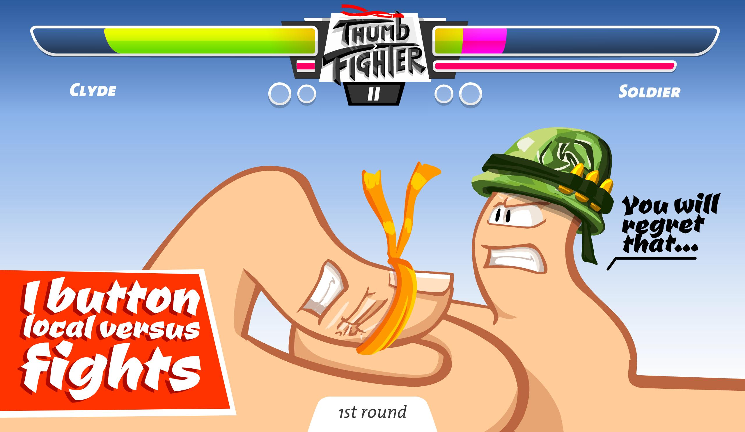 Thumb Fighter 👍 1.4.053 Screenshot 2