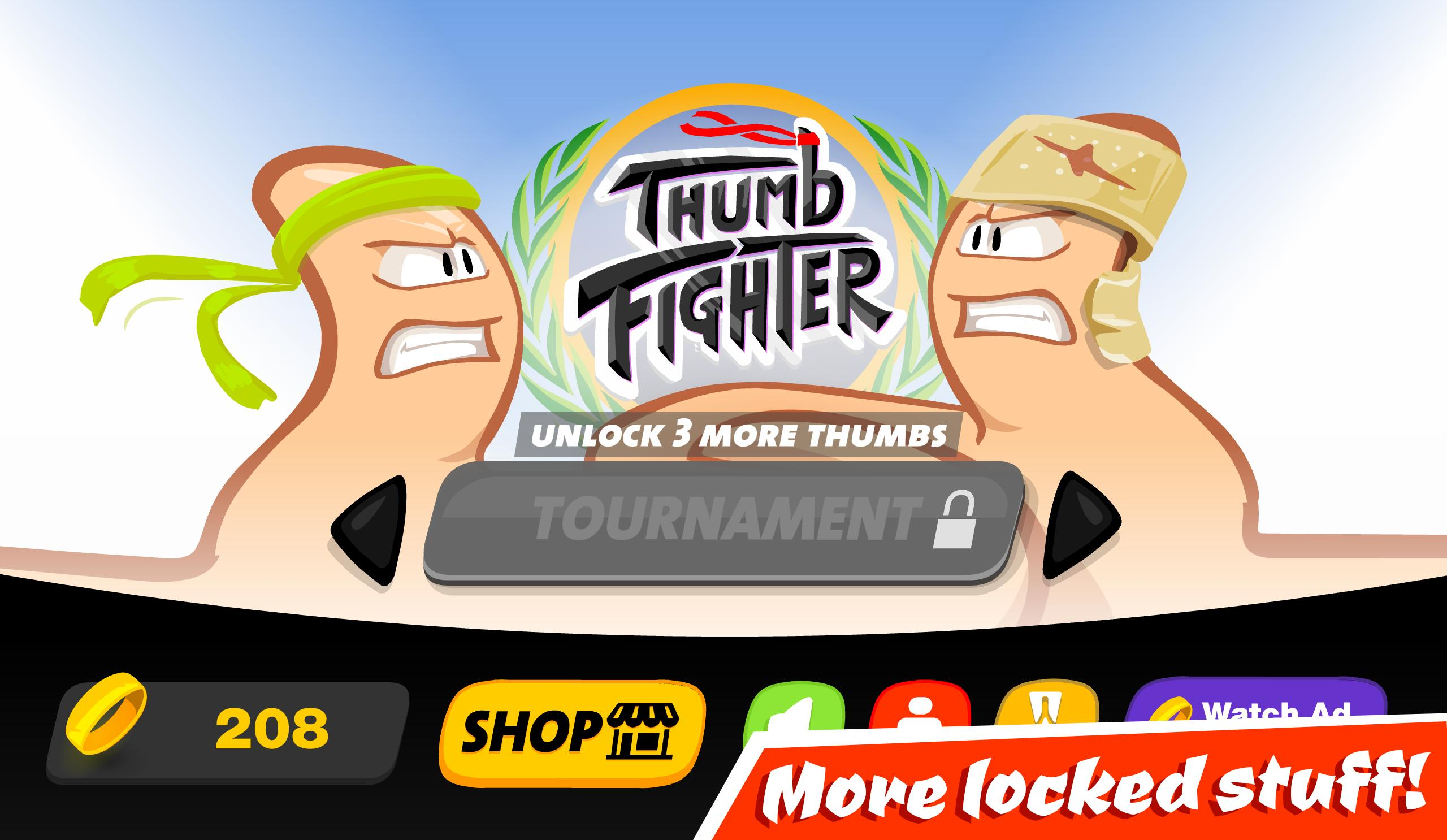 Thumb Fighter 👍 1.4.053 Screenshot 6