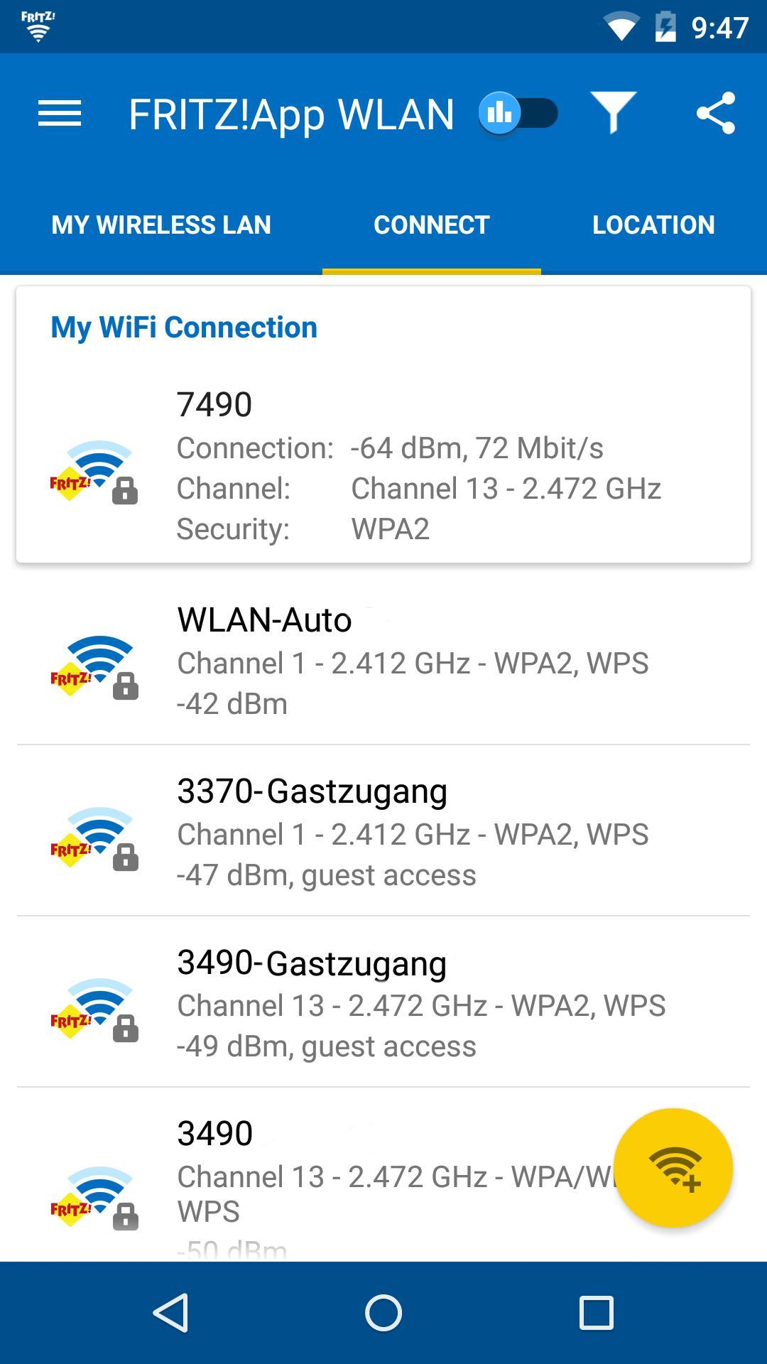 FRITZ!App WLAN 2.8.14 Screenshot 2