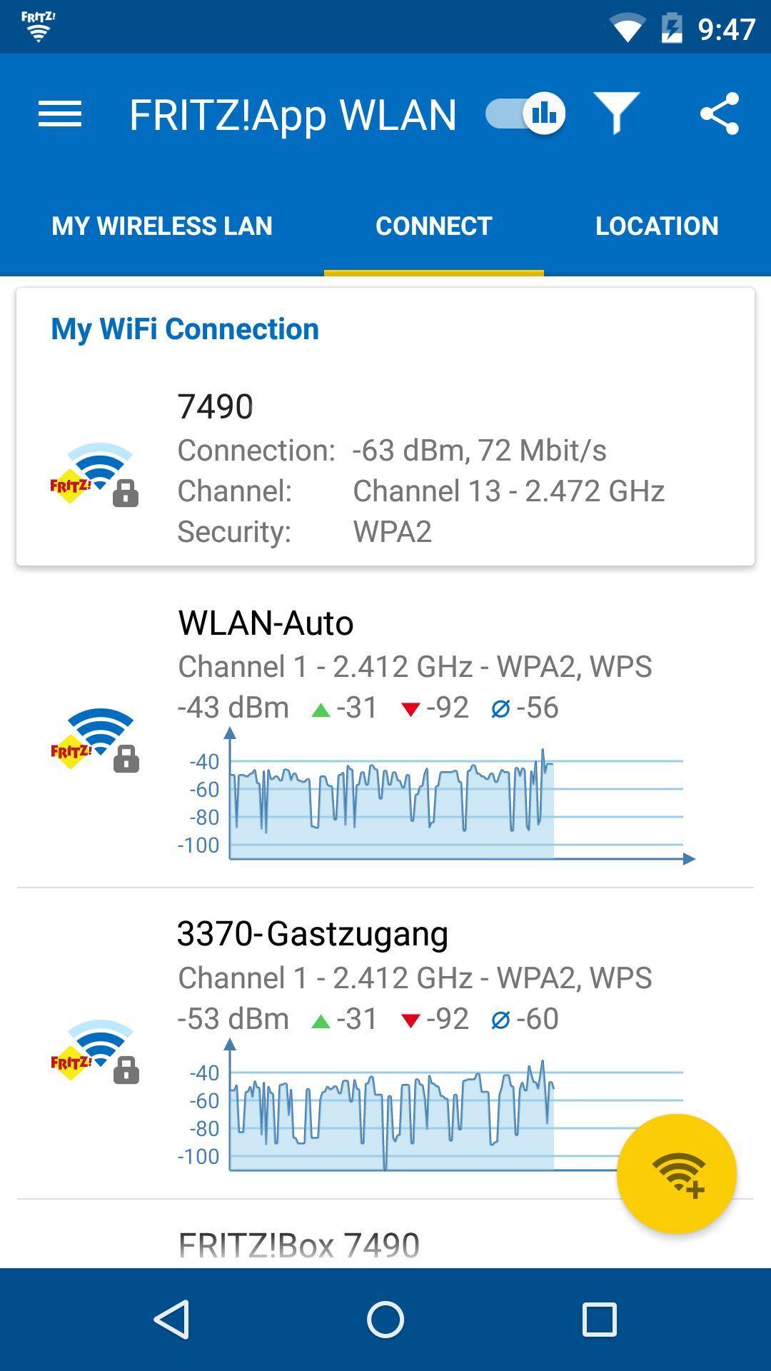 FRITZ!App WLAN 2.8.14 Screenshot 3