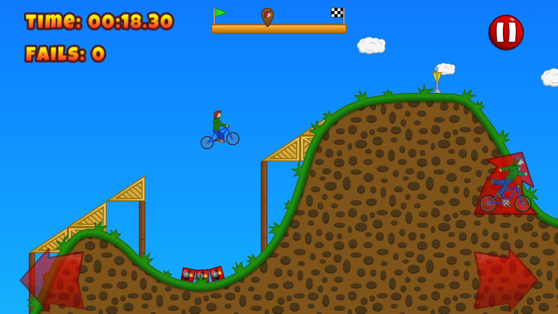 Beany Biker Hill Climber 1.15 Screenshot 1