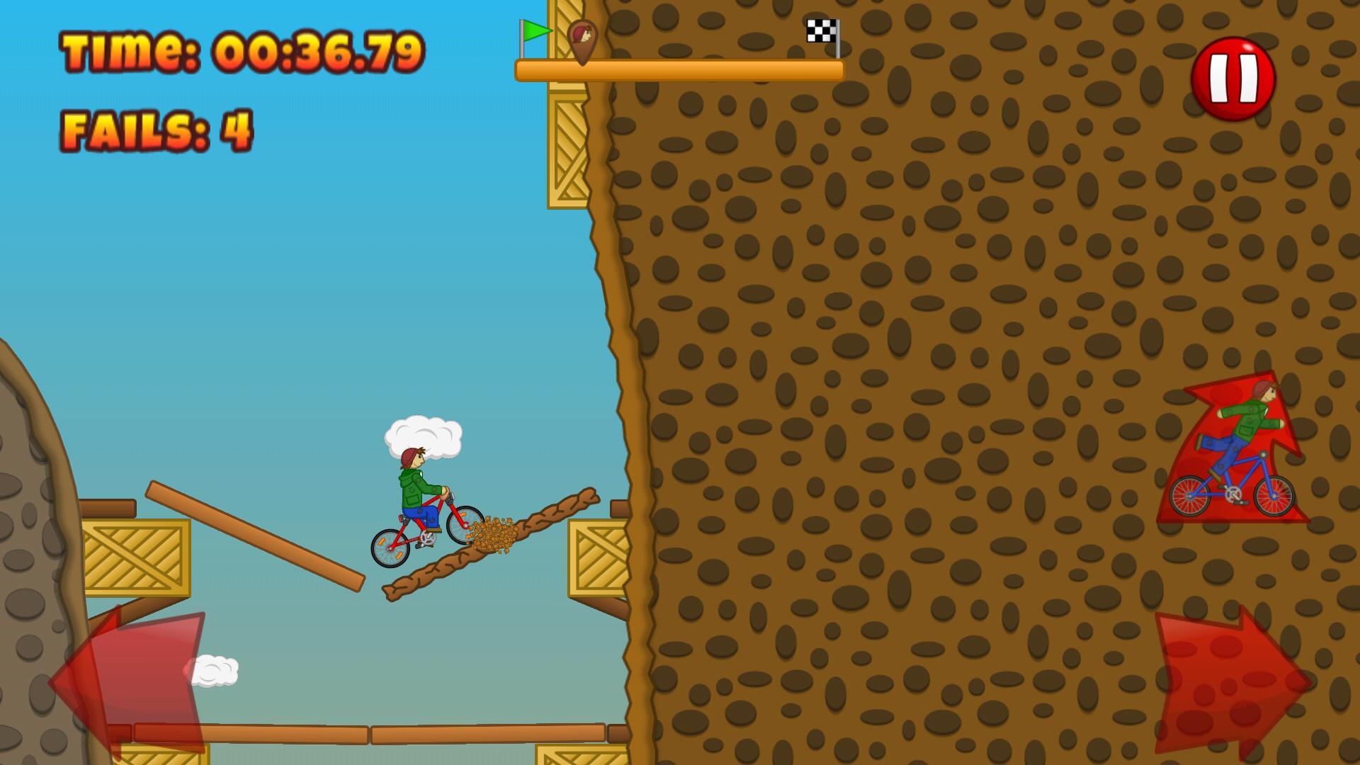 Beany Biker Hill Climber 1.15 Screenshot 2