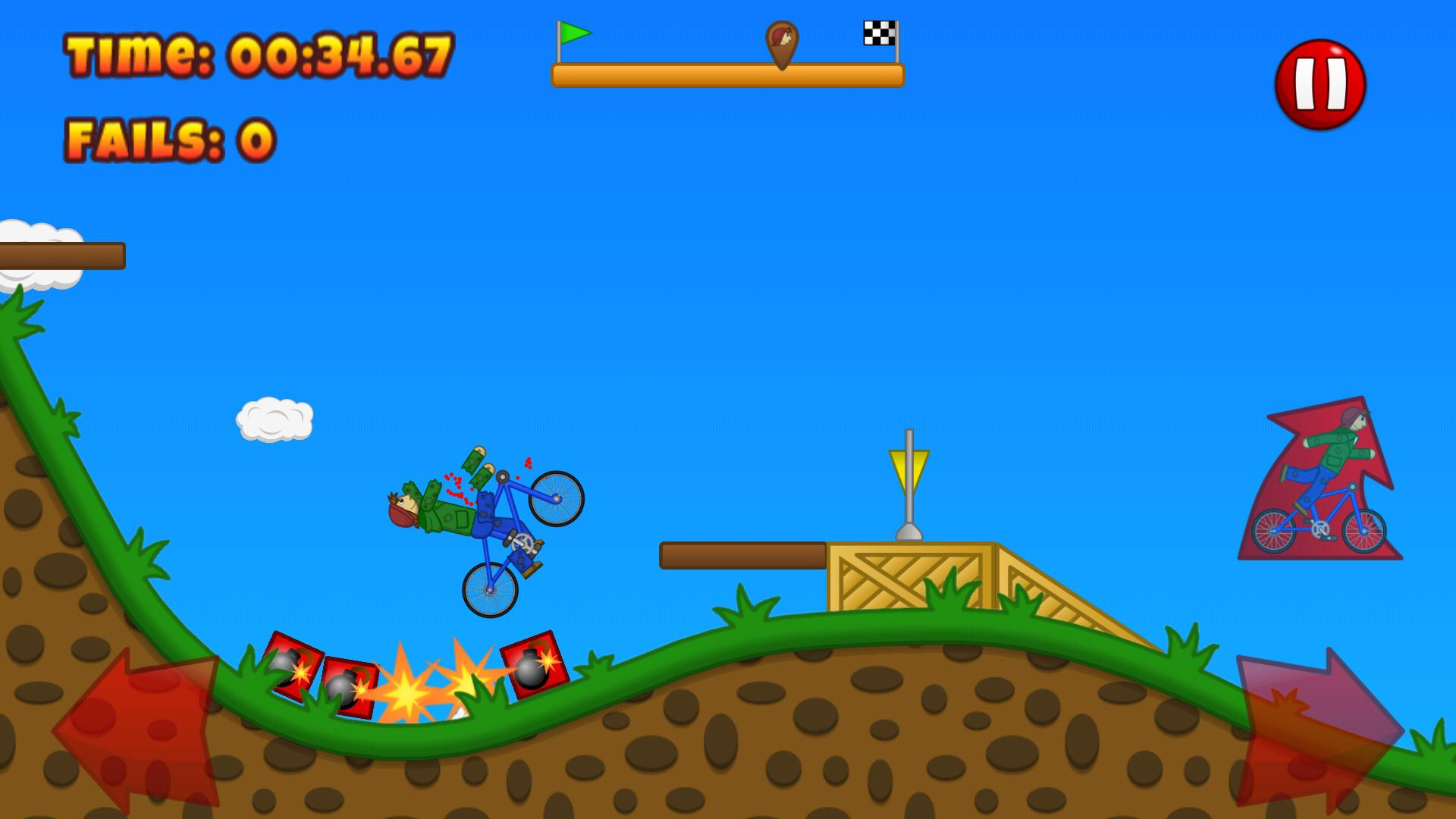 Beany Biker Hill Climber 1.15 Screenshot 3