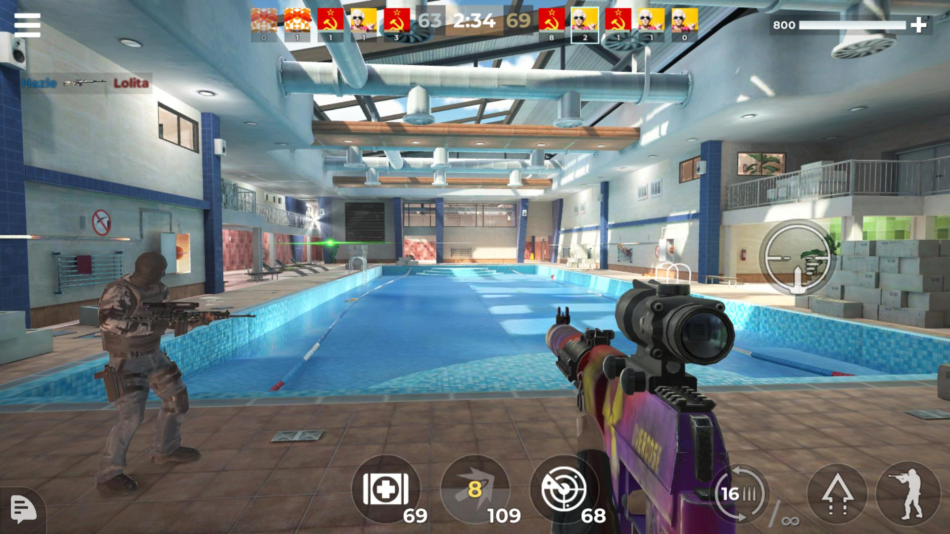 AWP Mode: Elite online 3D sniper action 1.6.1 Screenshot 12