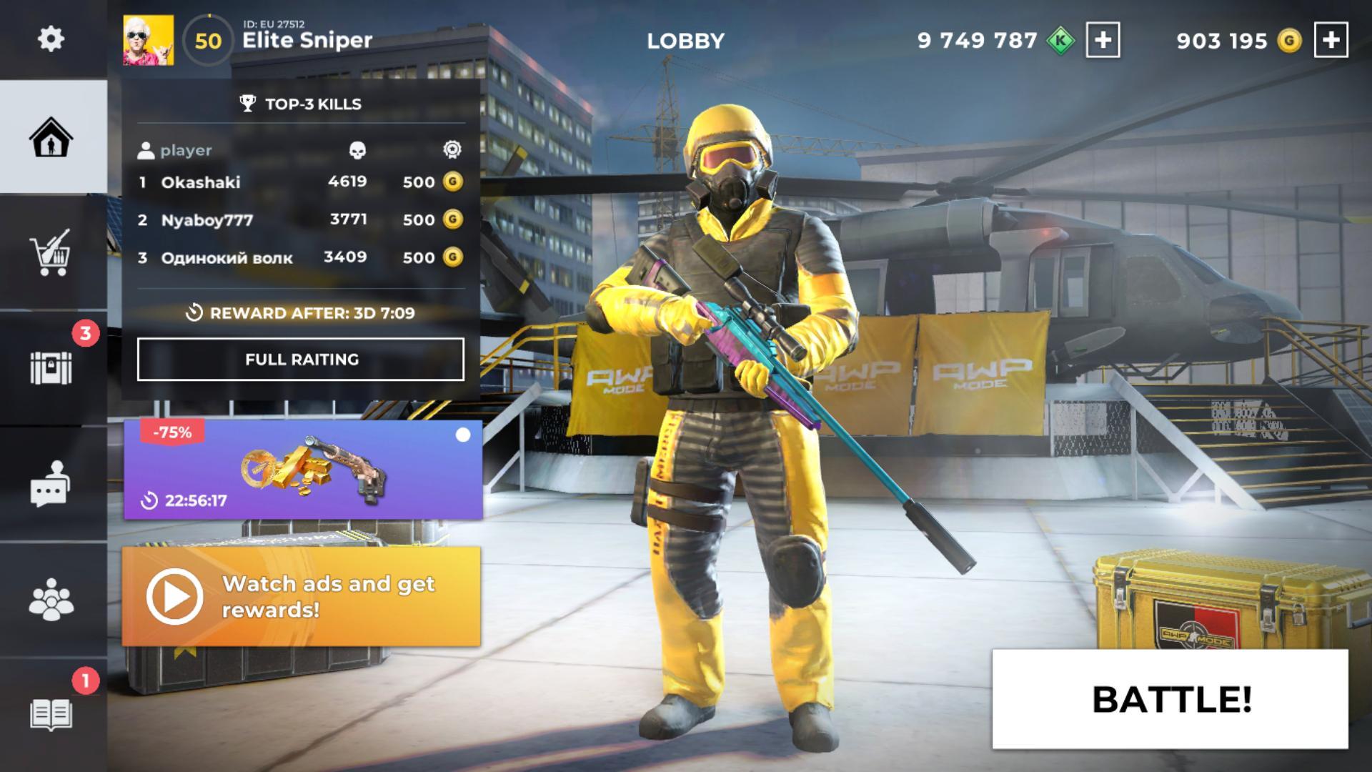 AWP Mode: Elite online 3D sniper action 1.6.1 Screenshot 15
