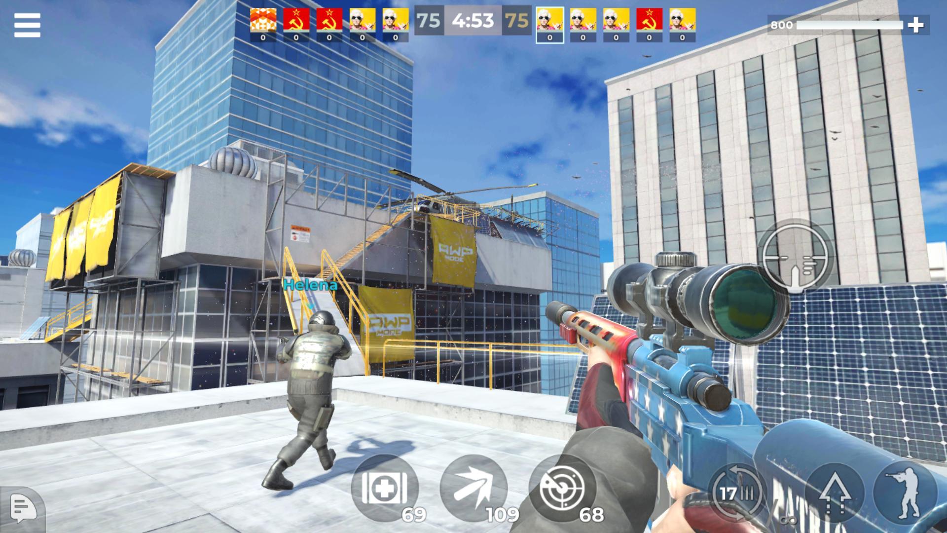 AWP Mode: Elite online 3D sniper action 1.6.1 Screenshot 9