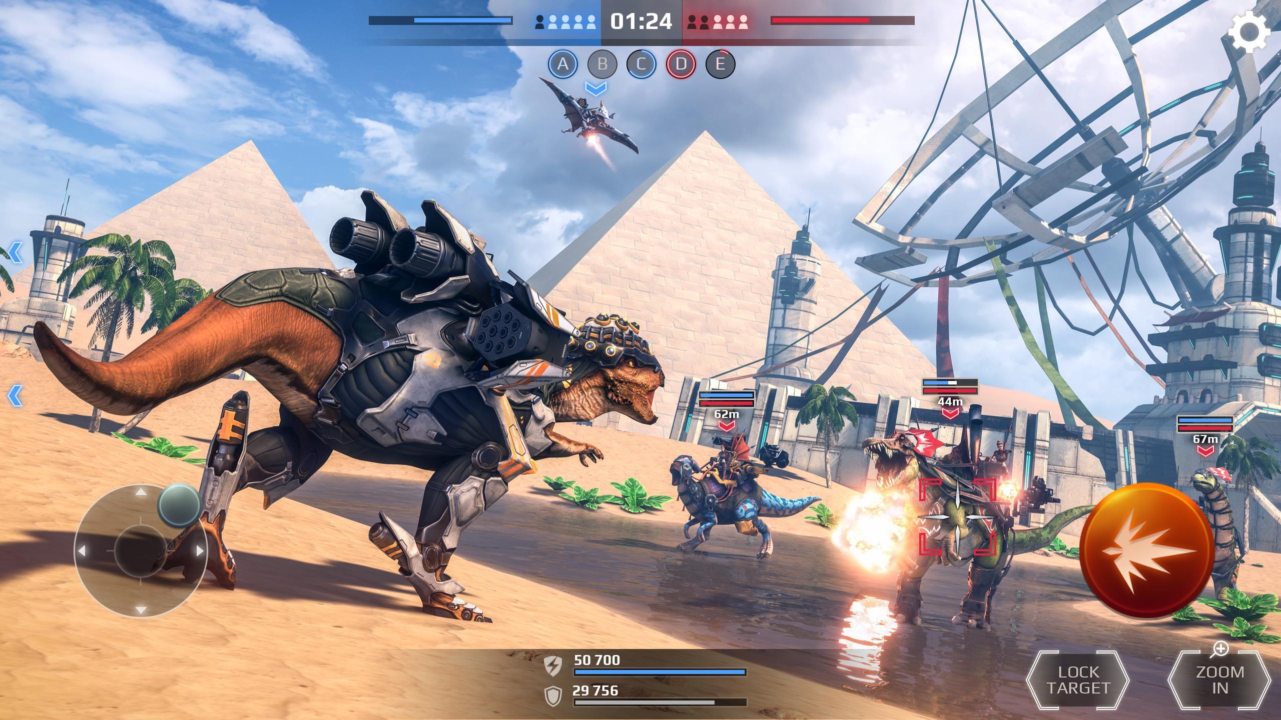 Jurassic Monster World: Dinosaur War 3D FPS 0.10.3 Screenshot 2