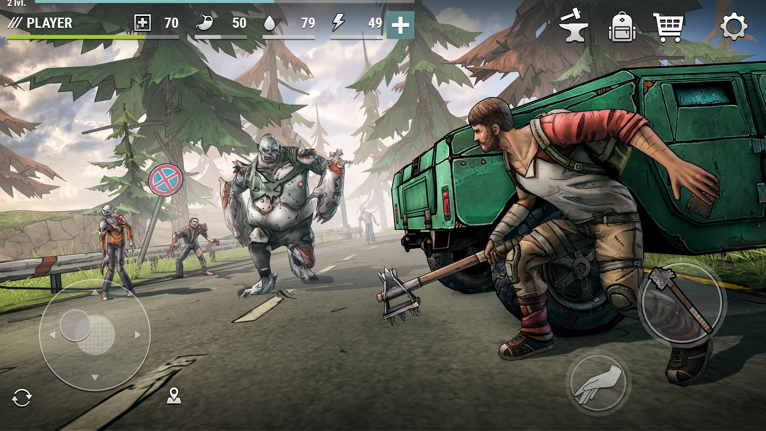 Dark Days Zombie Survival 1.3.1 Screenshot 1