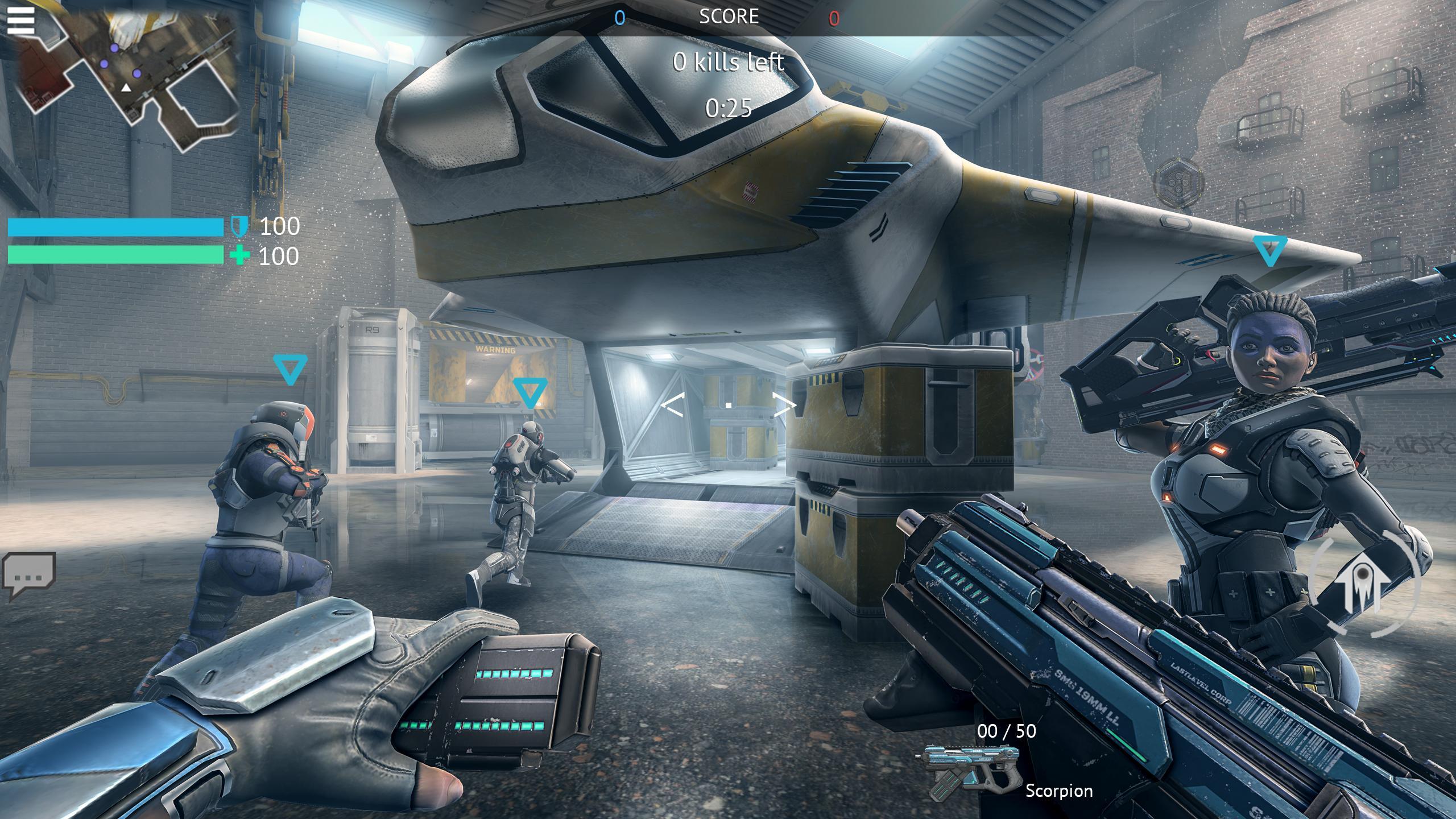 Infinity Ops Online FPS 1.11.0 Screenshot 2
