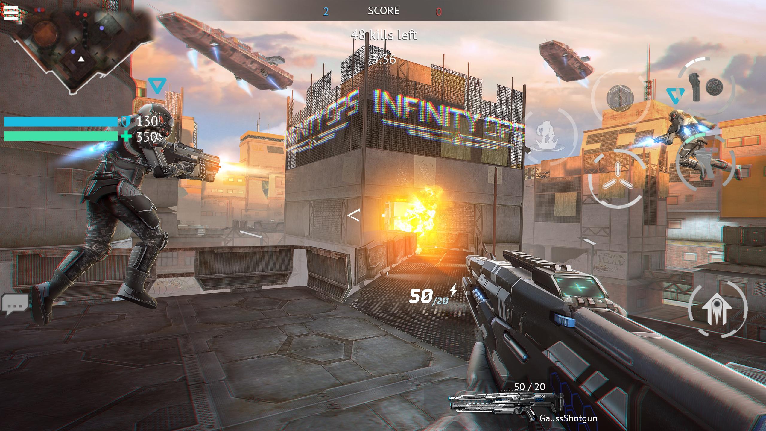 Infinity Ops Online FPS 1.11.0 Screenshot 3
