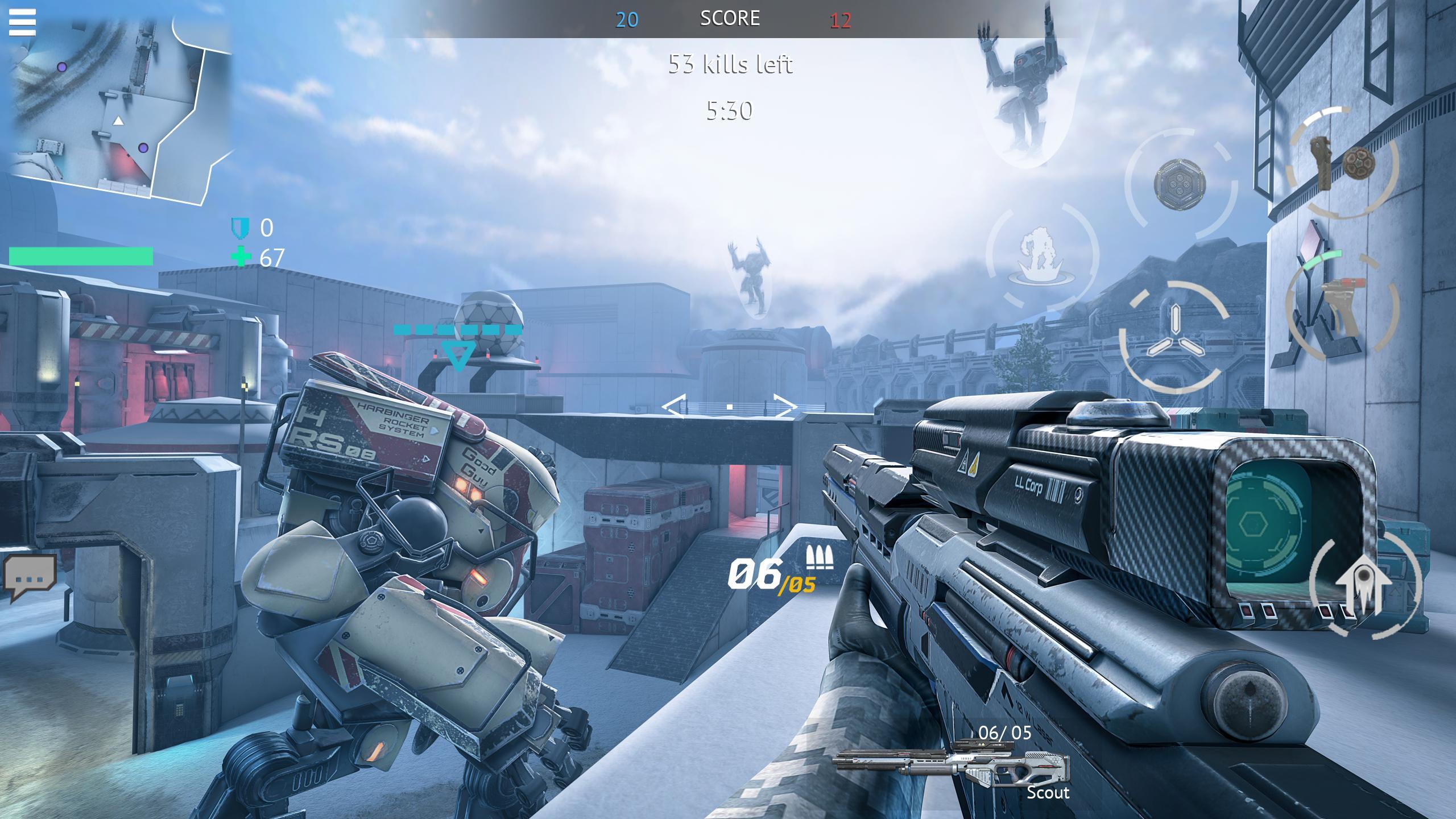 Infinity Ops Online FPS 1.11.0 Screenshot 7