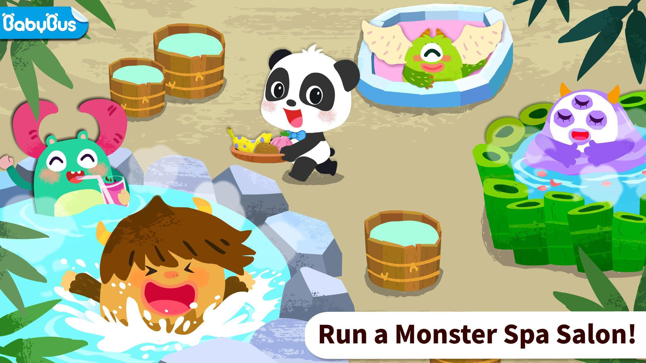 Baby Panda's Monster Spa  Salon 8.43.00.10 Screenshot 1