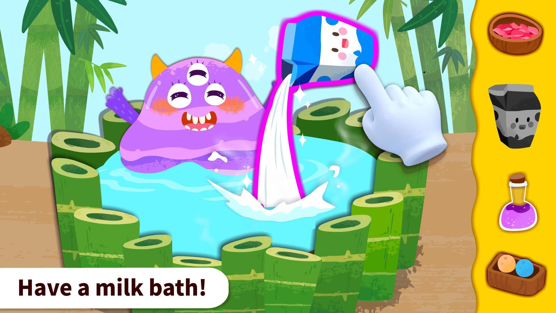 Baby Panda's Monster Spa  Salon 8.43.00.10 Screenshot 2