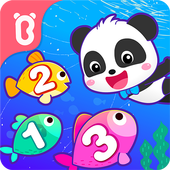 Baby Panda Learns Numbers app icon