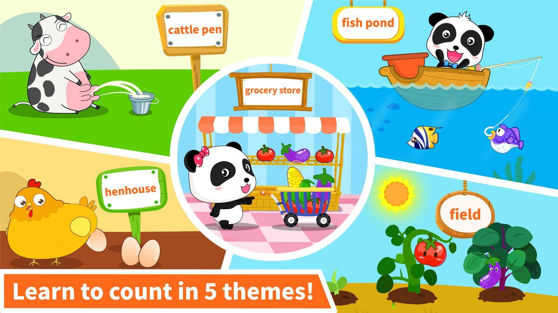 Baby Panda Learns Numbers 8.43.00.10 Screenshot 4