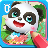 Little Panda's Drawing Board app icon