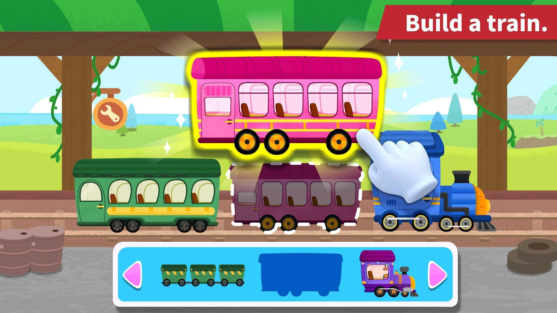 Baby Panda's Train 8.43.00.10 Screenshot 11
