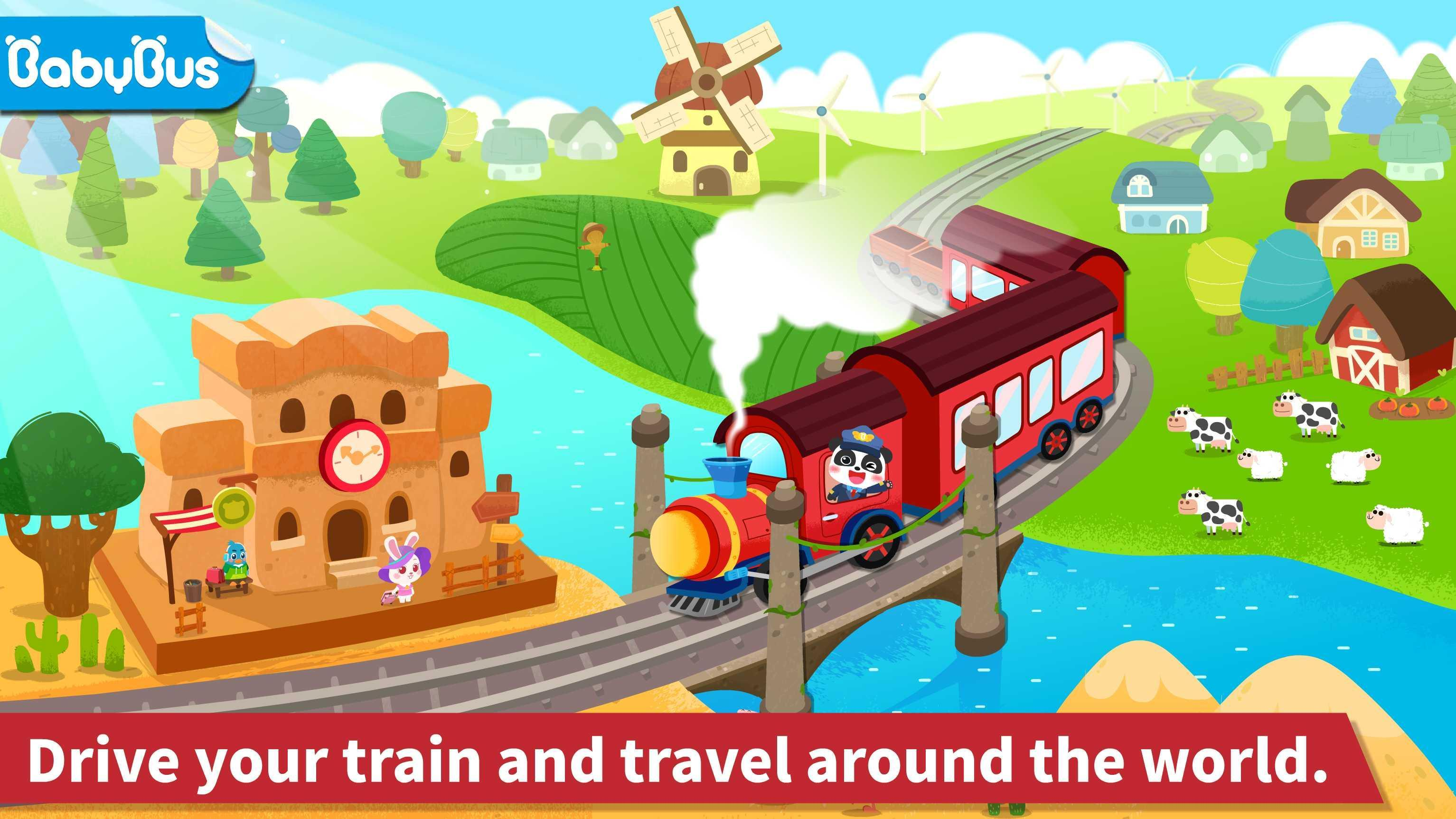 Baby Panda's Train 8.43.00.10 Screenshot 13