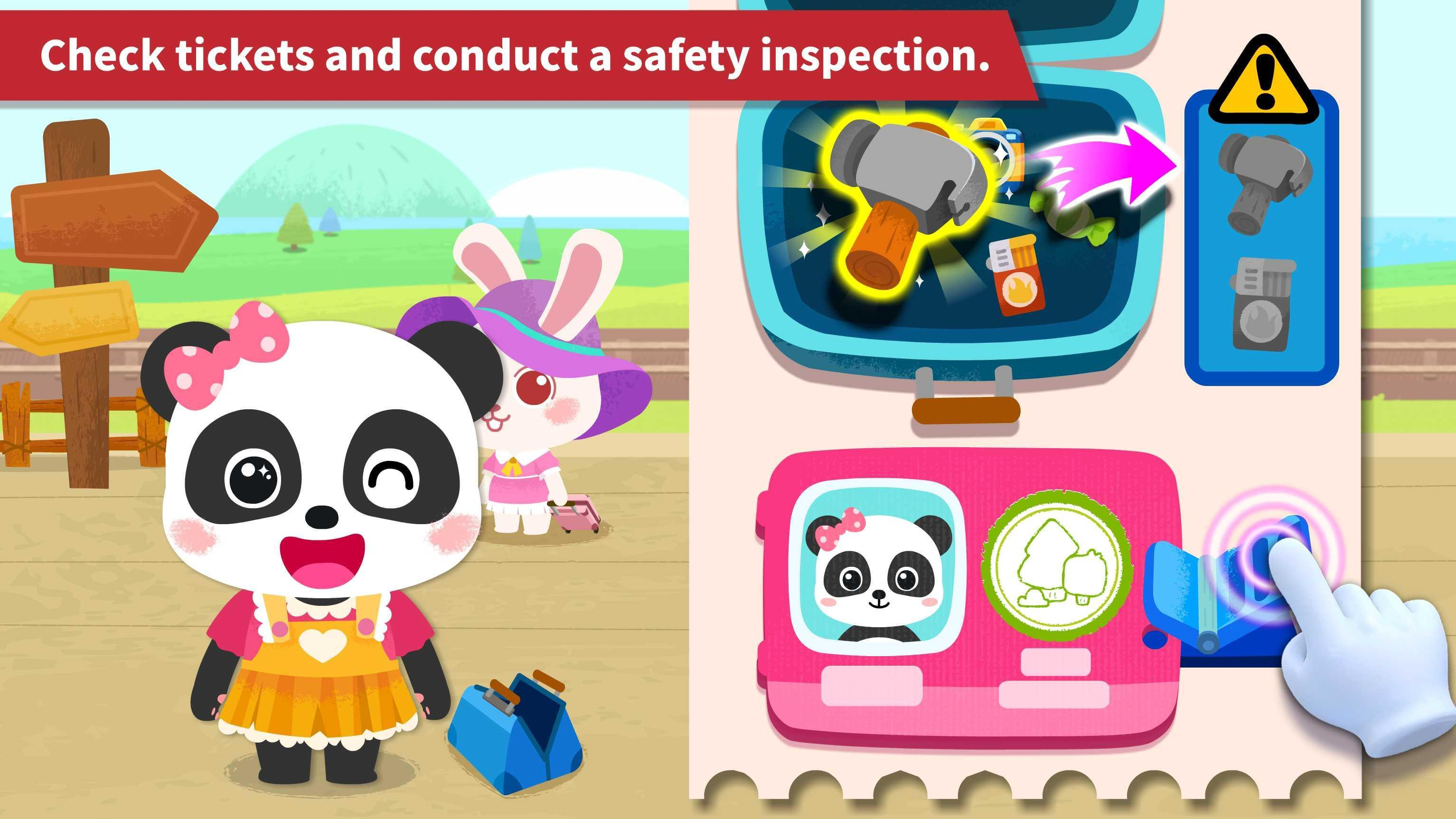 Baby Panda's Train 8.43.00.10 Screenshot 3