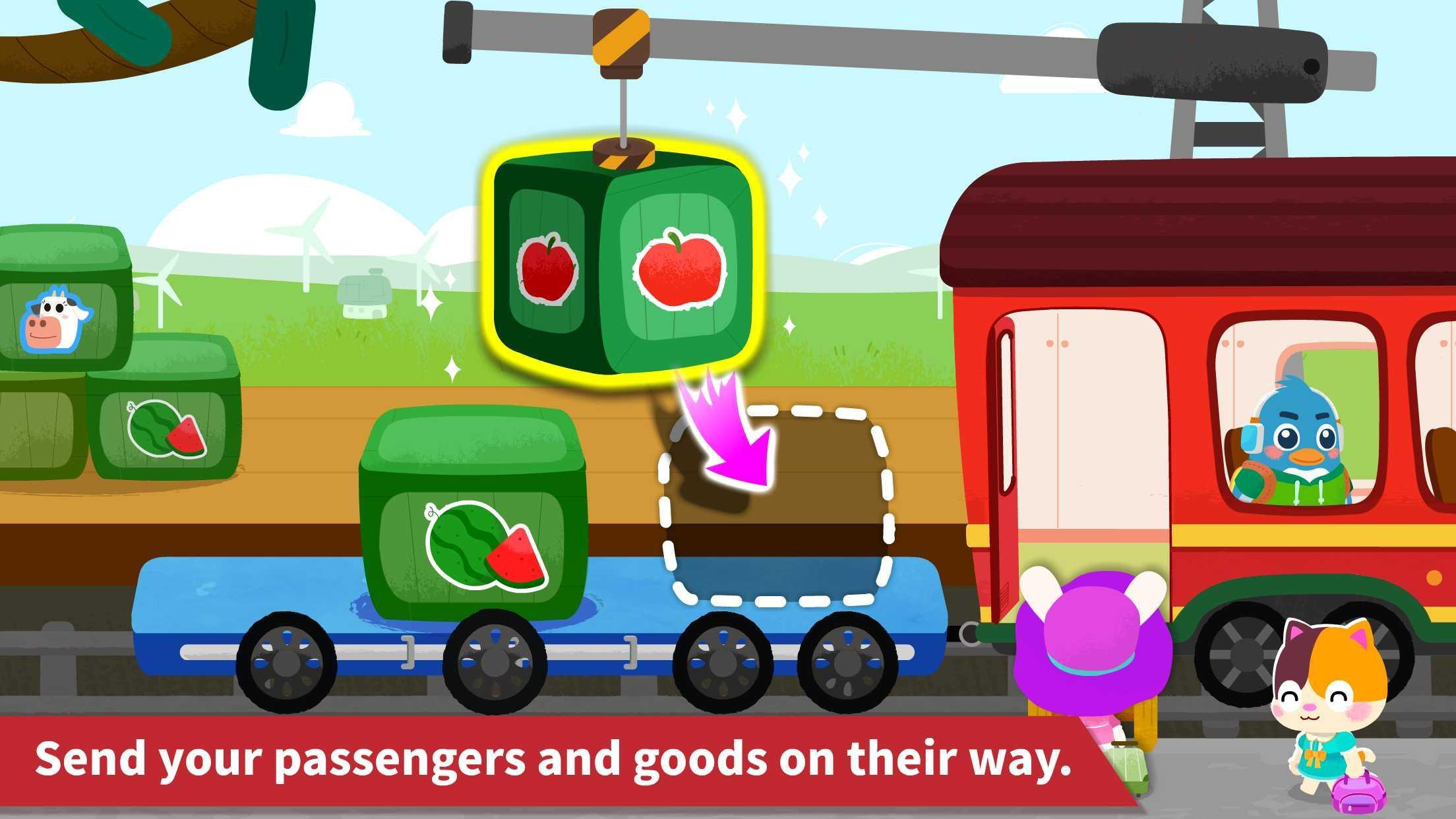 Baby Panda's Train 8.43.00.10 Screenshot 8