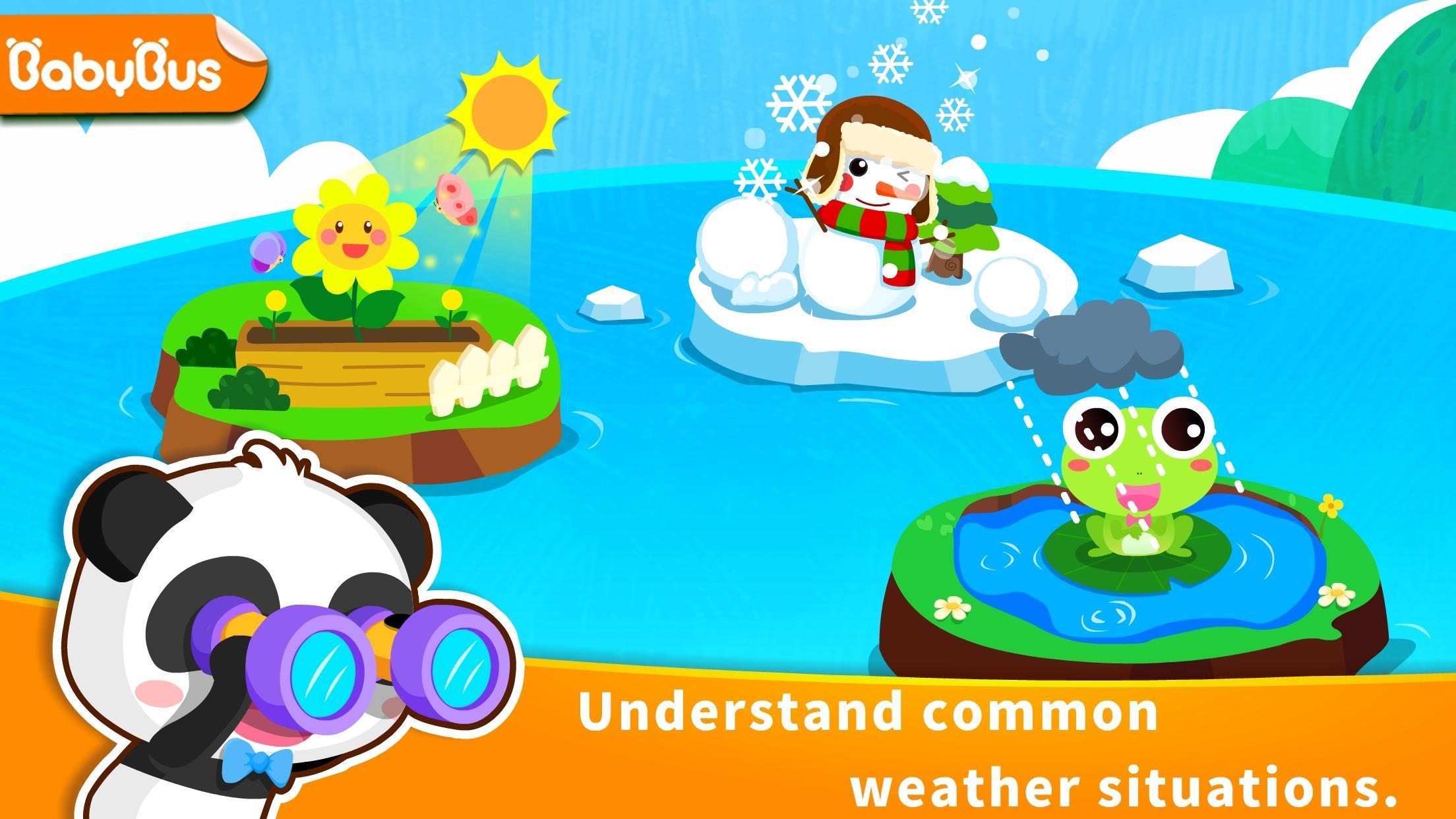 Baby Panda's Learning Weather 8.43.00.10 Screenshot 1