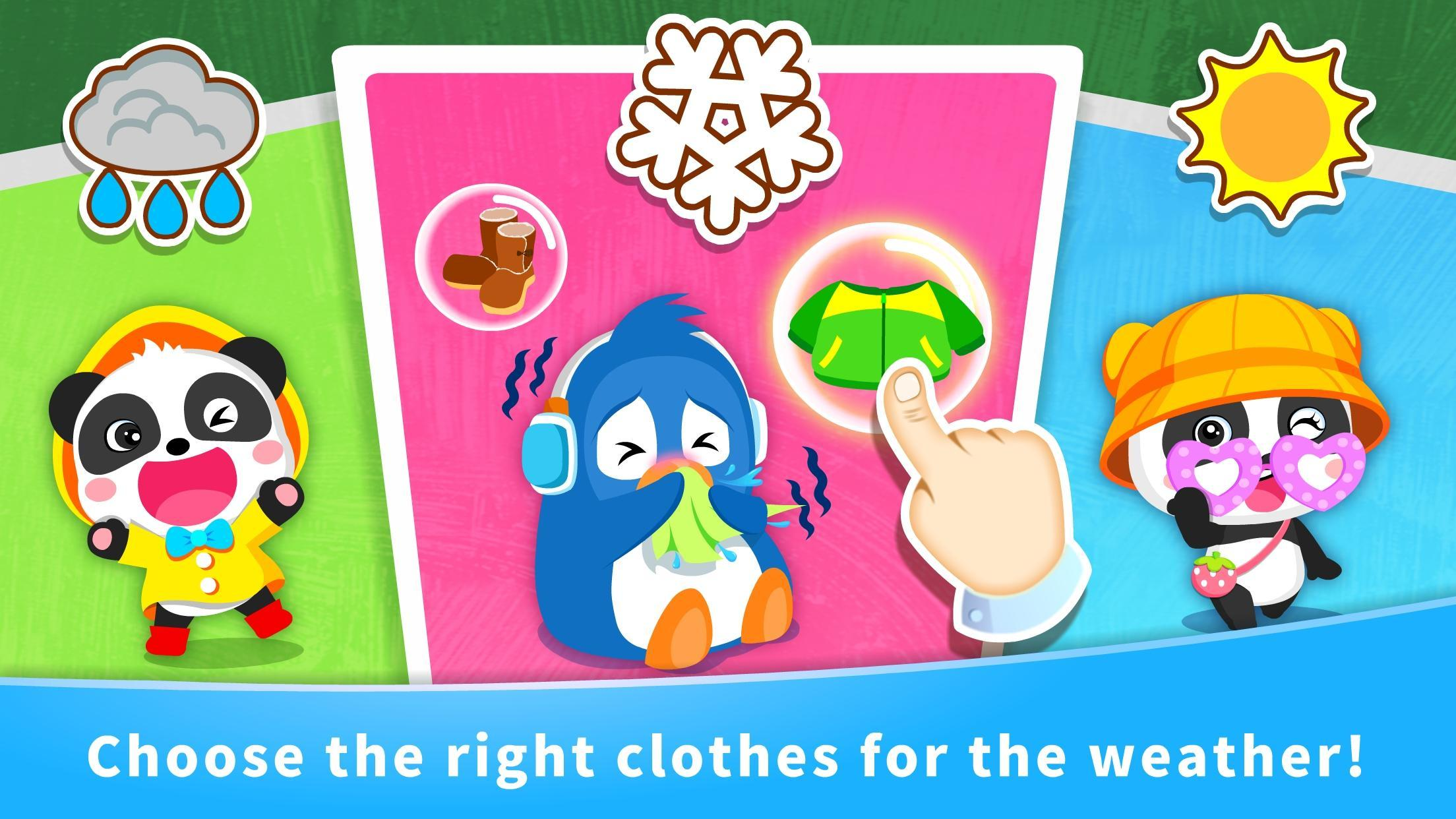 Baby Panda's Learning Weather 8.43.00.10 Screenshot 10