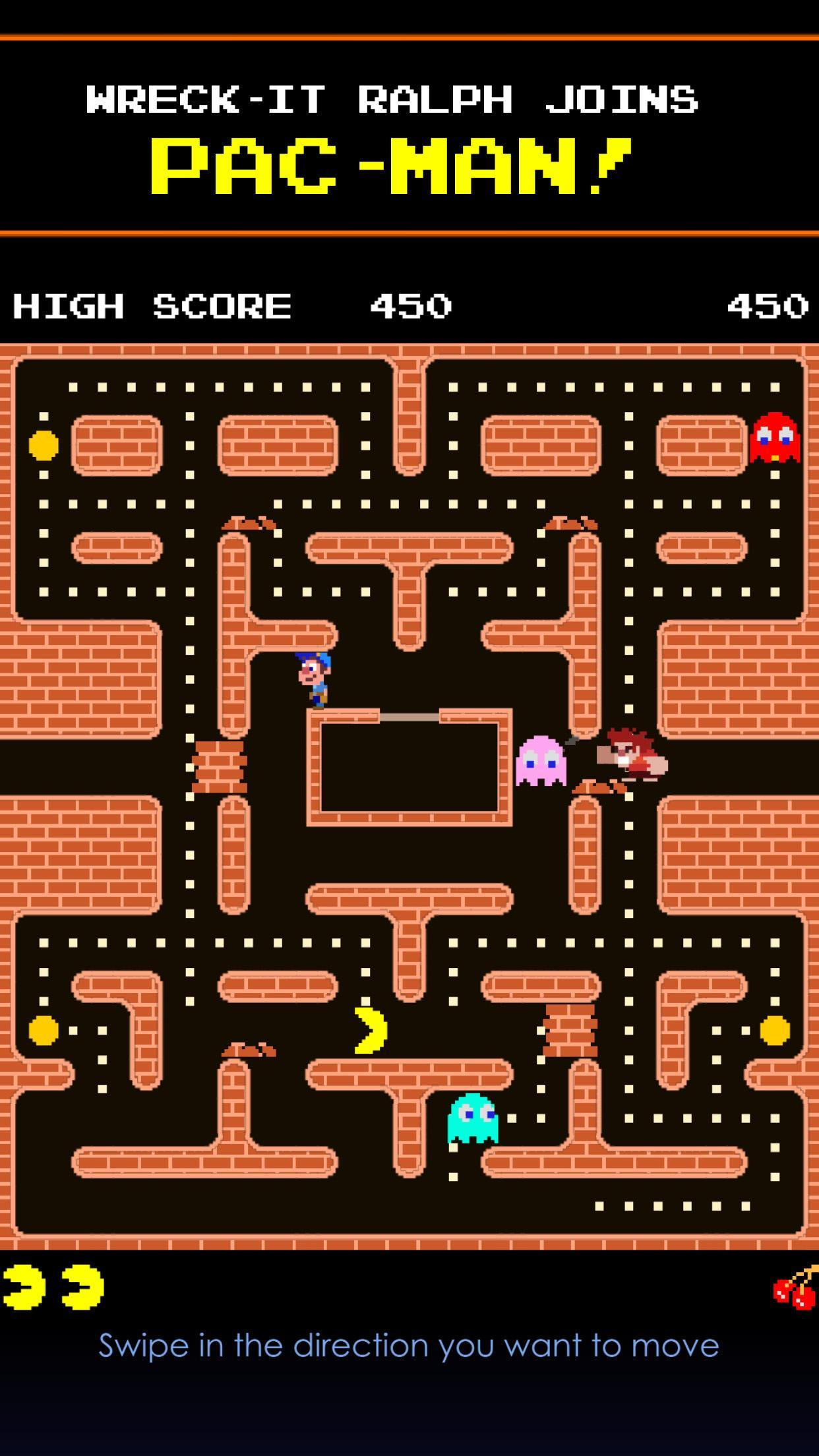 PAC-MAN: Ralph Breaks the Maze 1.0.8 Screenshot 1