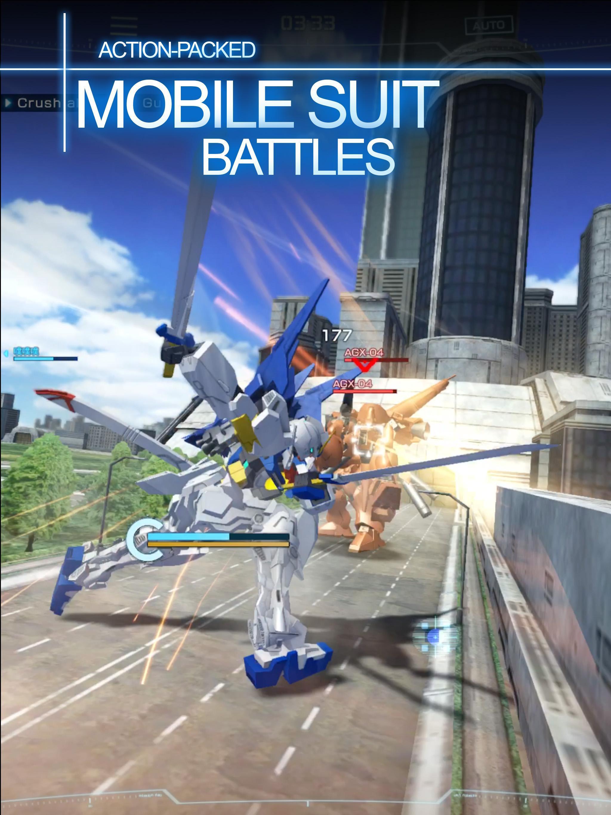 GUNDAM BATTLE: GUNPLA WARFARE 2.01.01 Screenshot 2