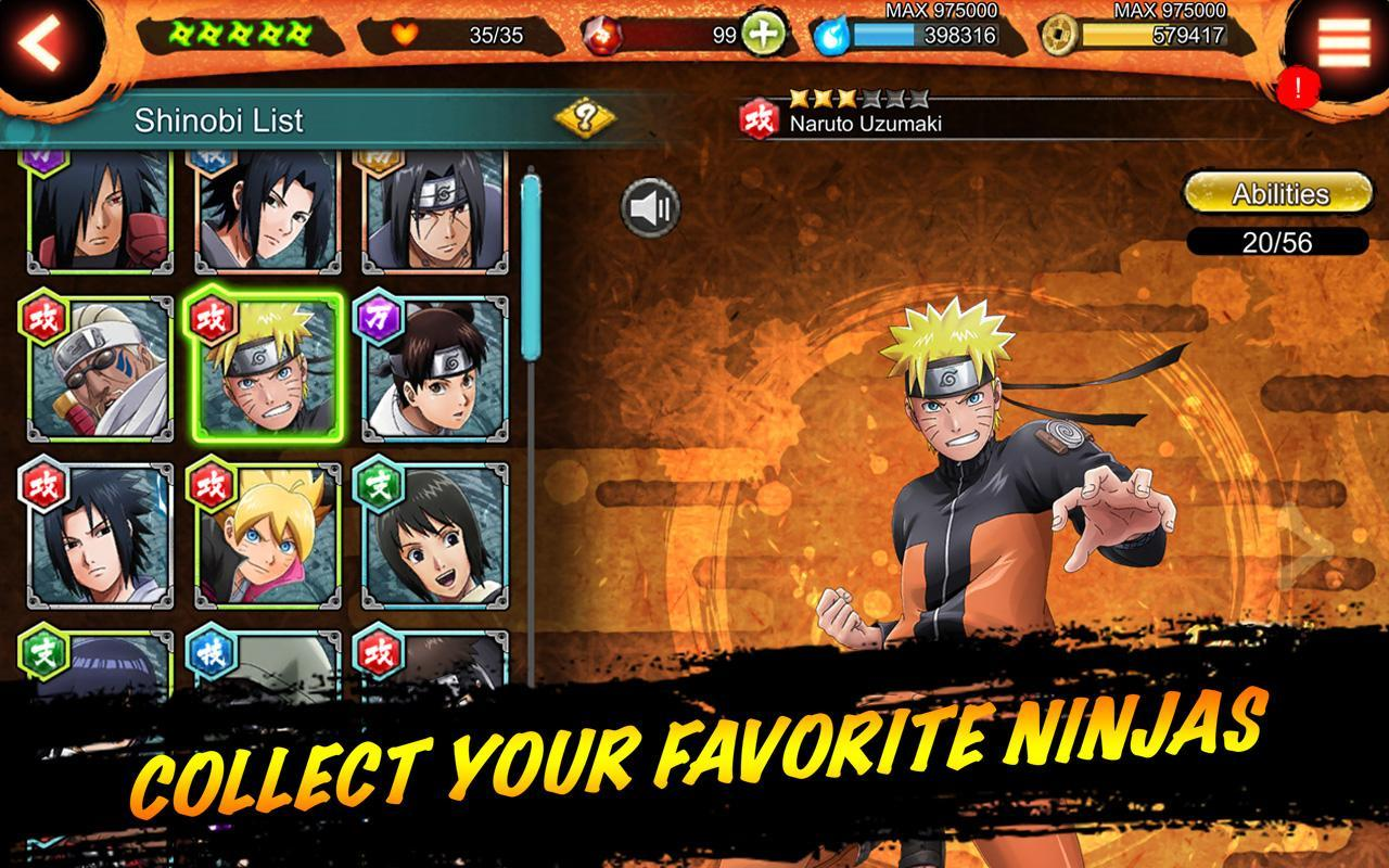 NARUTO X BORUTO NINJA VOLTAGE 6.1.0 Screenshot 5