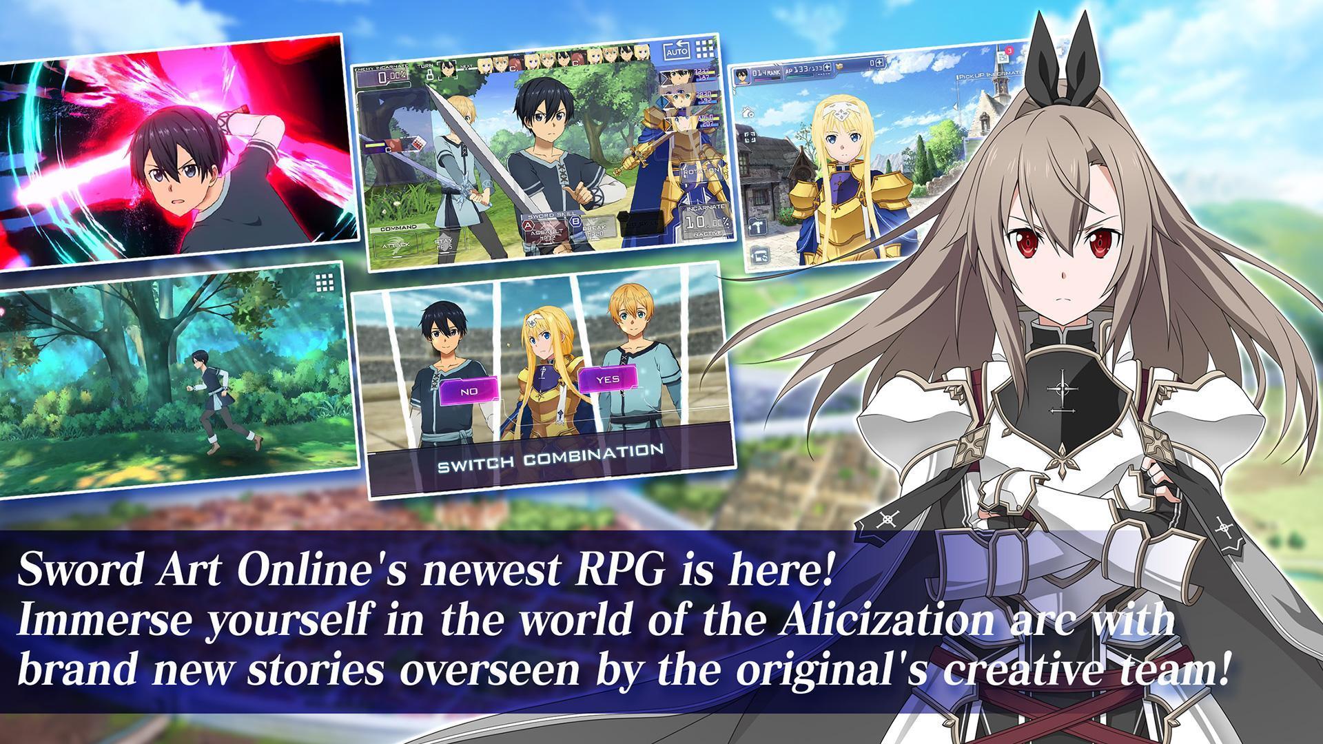 Sword Art Online Alicization Rising Steel 1.15.0 Screenshot 1